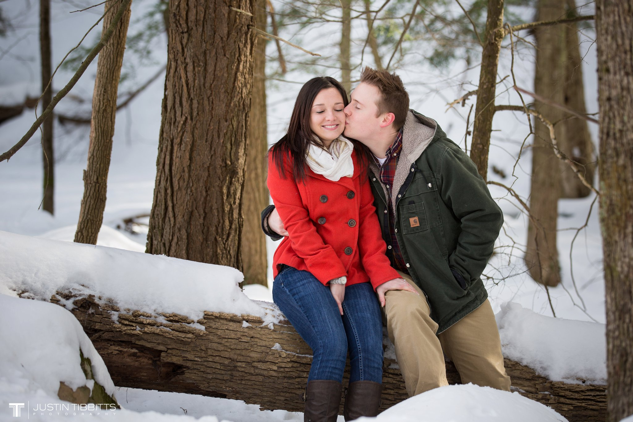 Justin Tibbitts Photography Brittany and Rob's Averill Park New York Engagement Photo shoot_0008