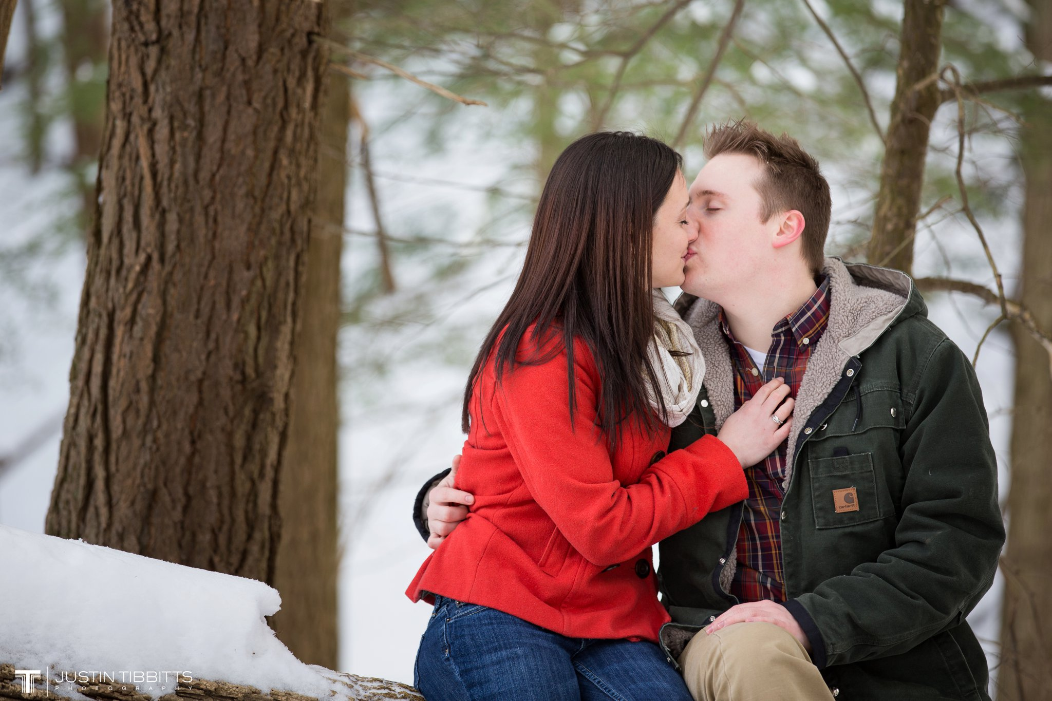 Justin Tibbitts Photography Brittany and Rob's Averill Park New York Engagement Photo shoot_0012