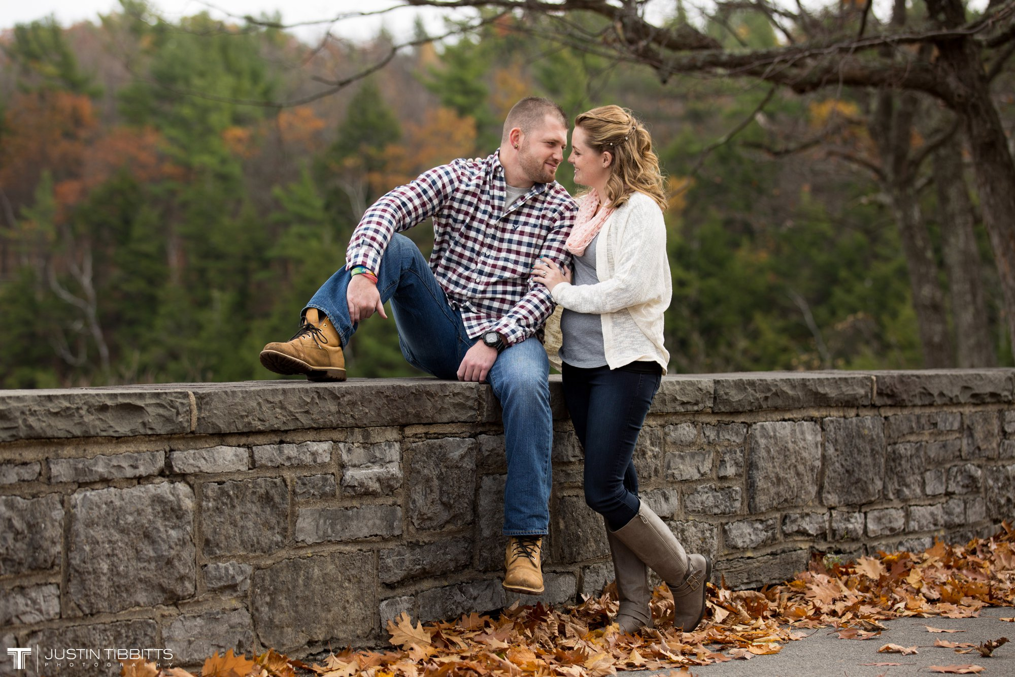 Justin Tibbitts Photography Ashlee and Steves Thatcher Park, New York Engagement Shoot-10