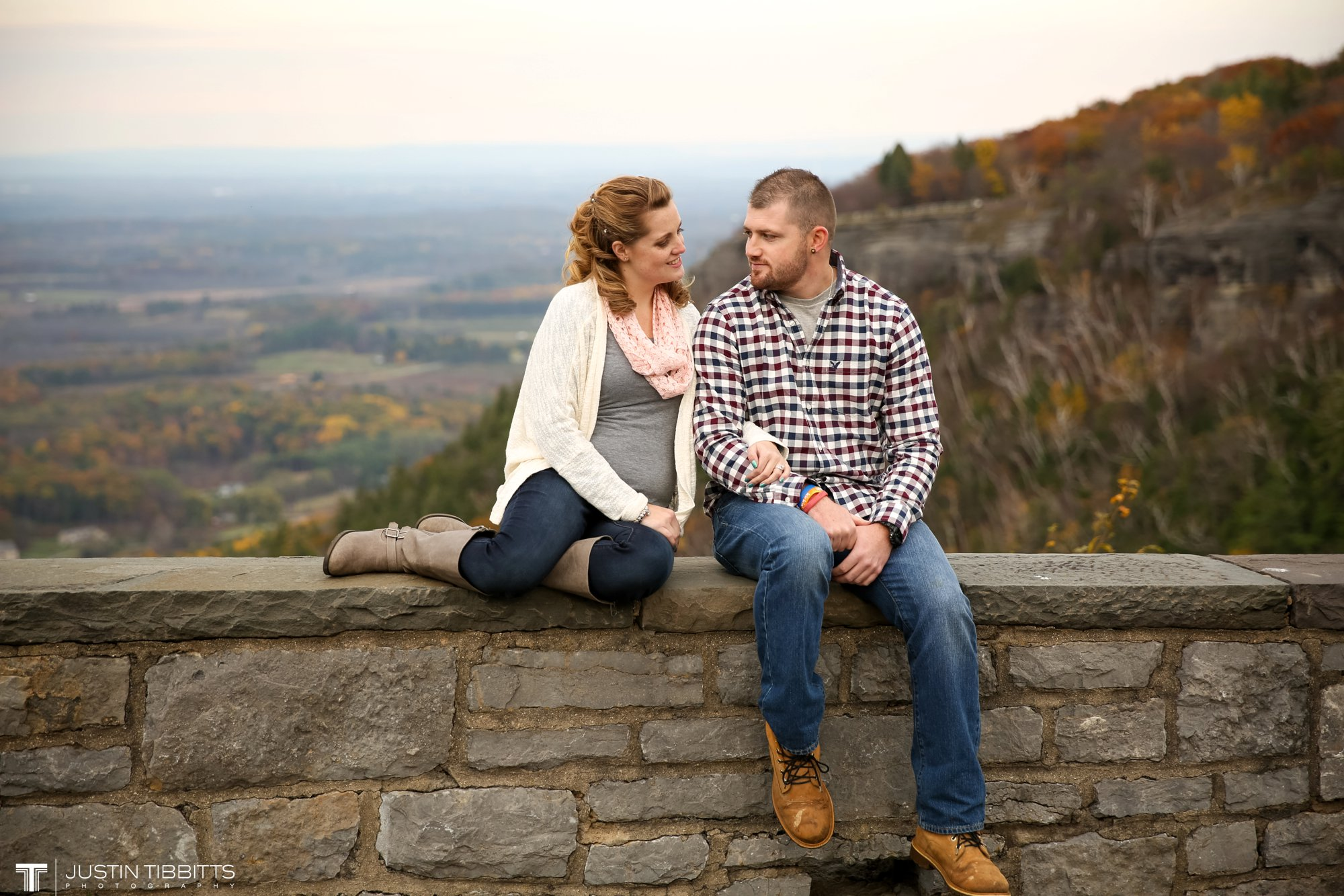 Justin Tibbitts Photography Ashlee and Steves Thatcher Park, New York Engagement Shoot-125