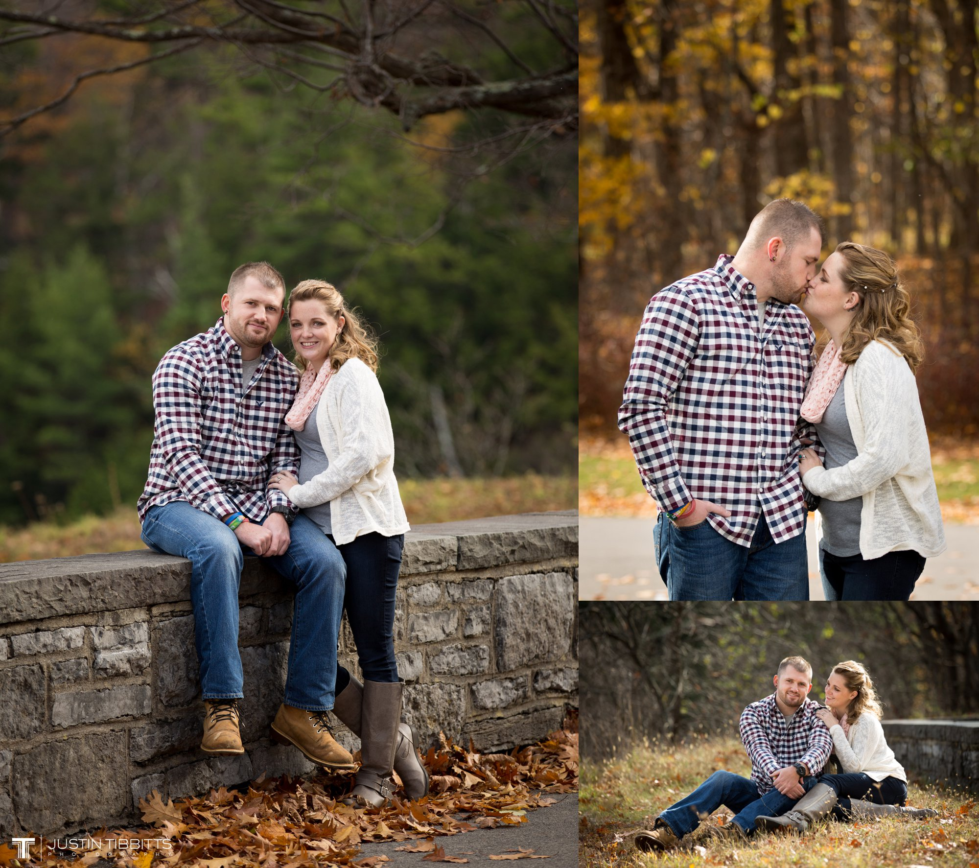 Justin Tibbitts Photography Ashlee and Steves Thatcher Park, New York Engagement Shoot-13