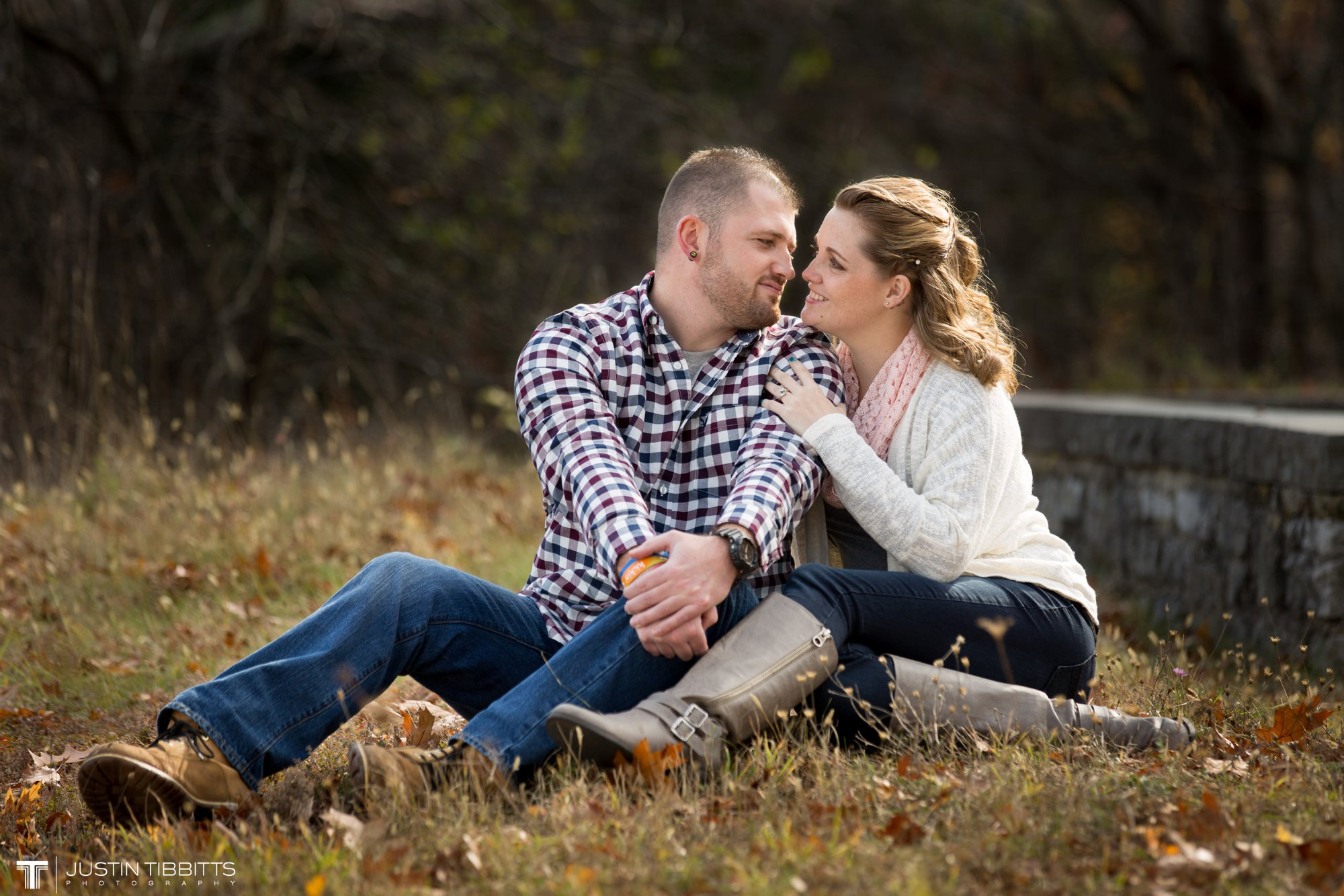 Justin Tibbitts Photography Ashlee and Steves Thatcher Park, New York Engagement Shoot-18