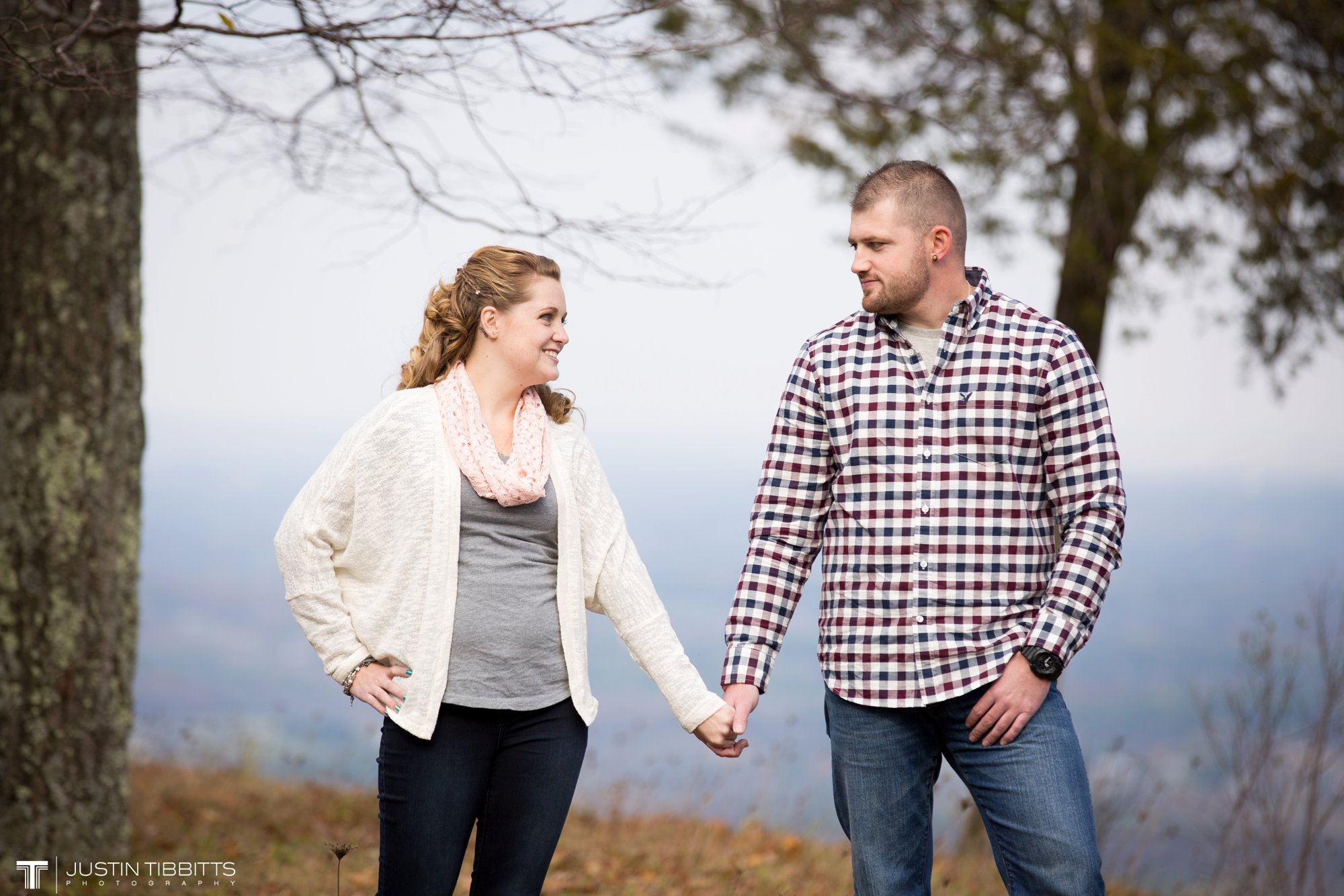 Justin Tibbitts Photography Ashlee and Steves Thatcher Park, New York Engagement Shoot-26