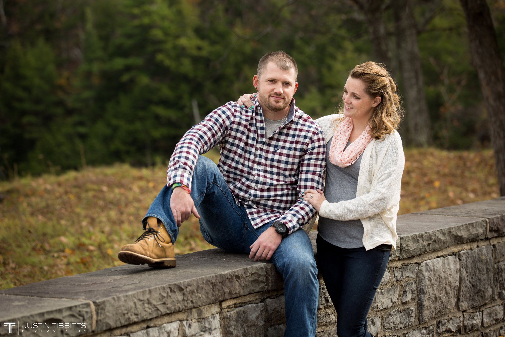Justin Tibbitts Photography Ashlee and Steves Thatcher Park, New York Engagement Shoot-3