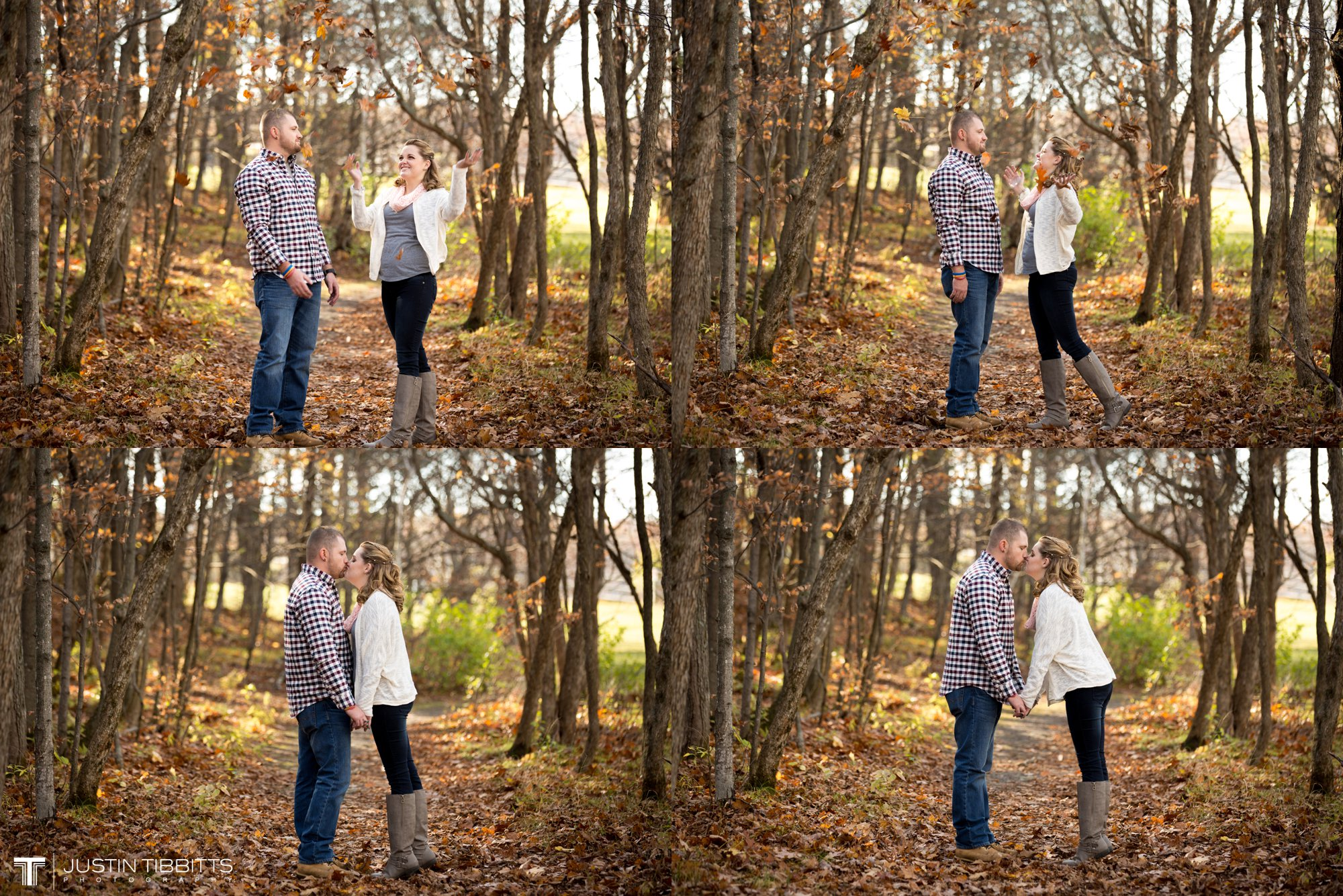 Justin Tibbitts Photography Ashlee and Steves Thatcher Park, New York Engagement Shoot-48