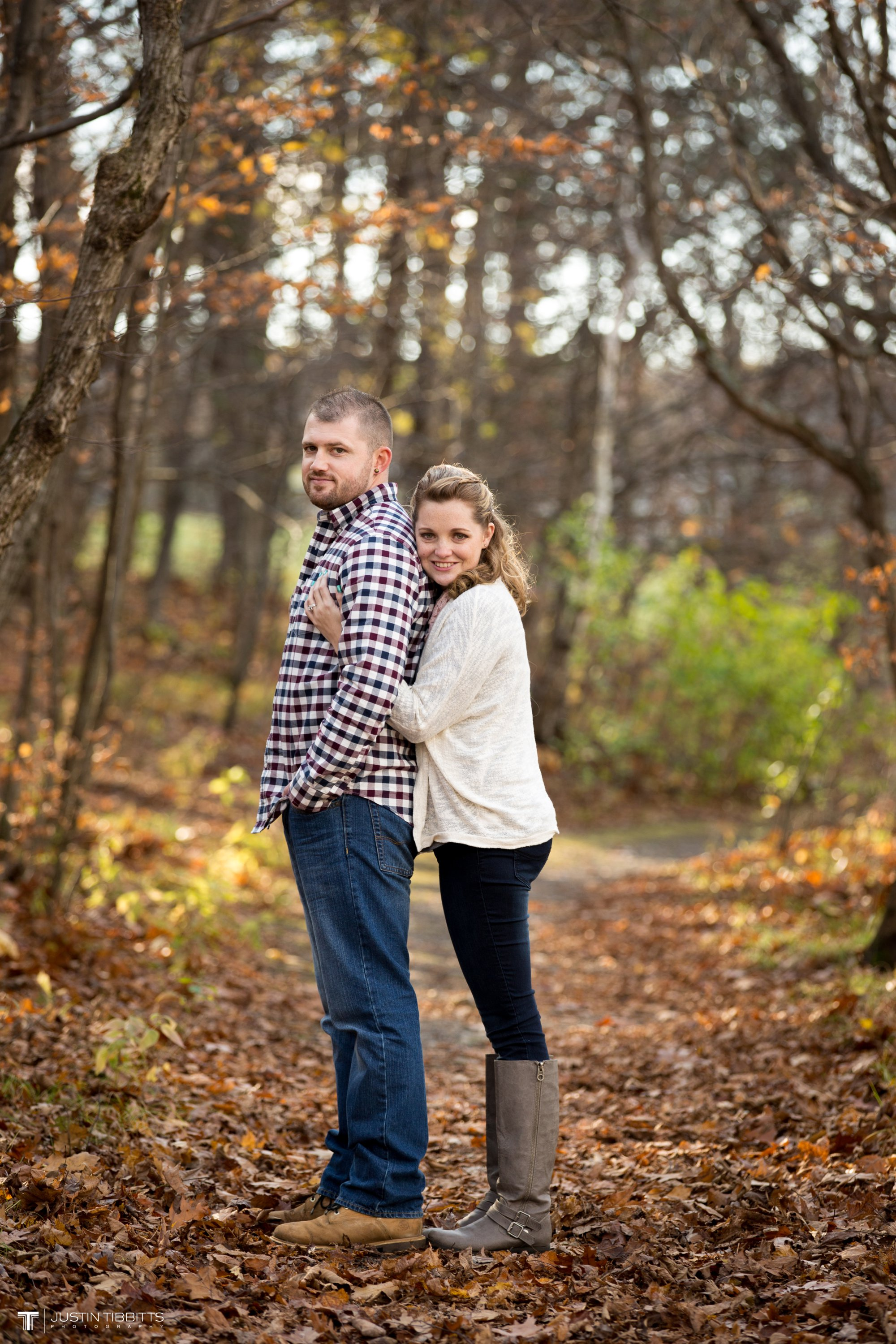 Justin Tibbitts Photography Ashlee and Steves Thatcher Park, New York Engagement Shoot-52