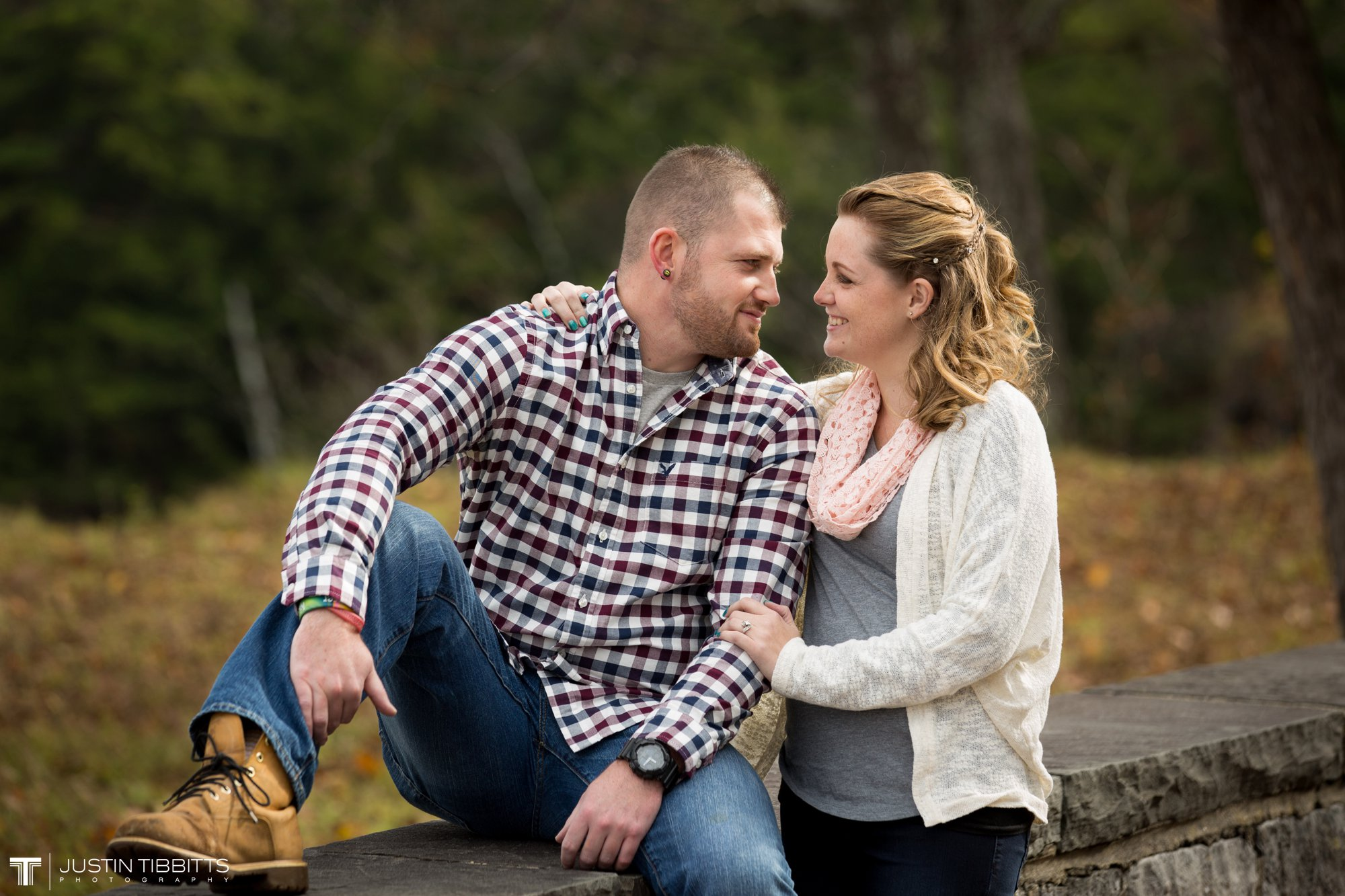 Justin Tibbitts Photography Ashlee and Steves Thatcher Park, New York Engagement Shoot-6