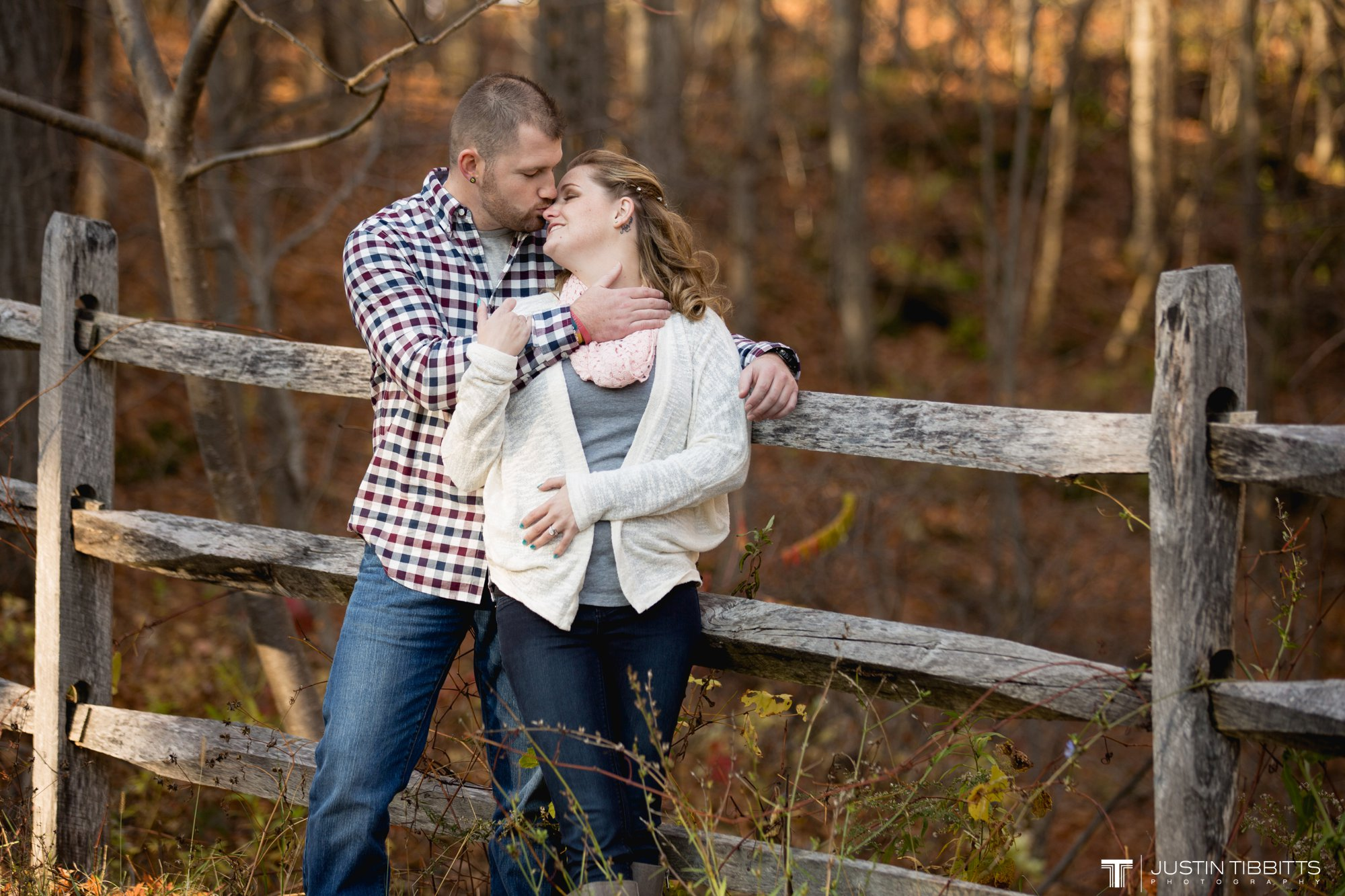 Justin Tibbitts Photography Ashlee and Steves Thatcher Park, New York Engagement Shoot-71