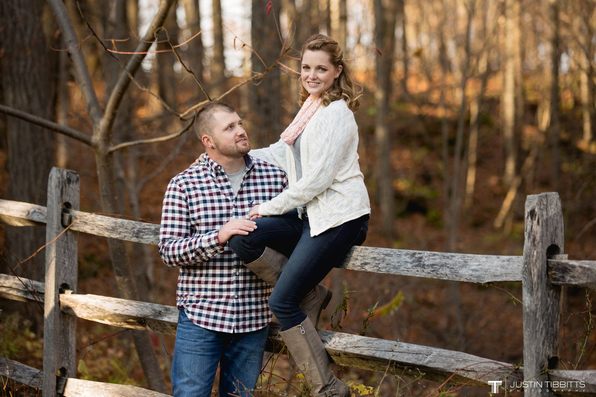 Justin Tibbitts Photography Ashlee and Steves Thatcher Park, New York Engagement Shoot-73