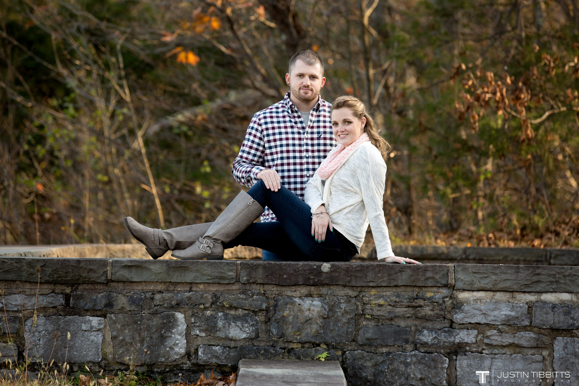 Justin Tibbitts Photography Ashlee and Steves Thatcher Park, New York Engagement Shoot-85
