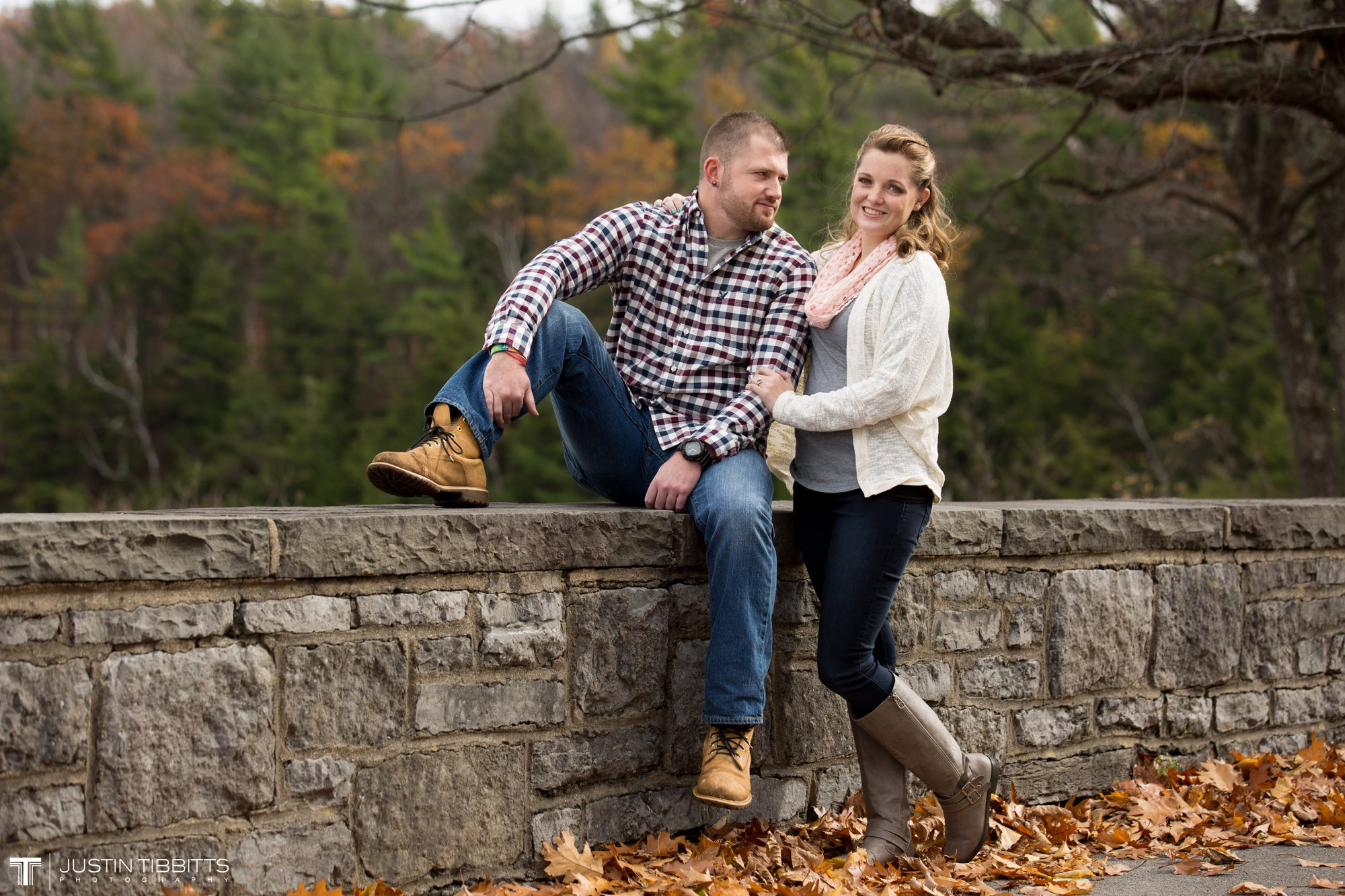 Justin Tibbitts Photography Ashlee and Steves Thatcher Park, New York Engagement Shoot-9