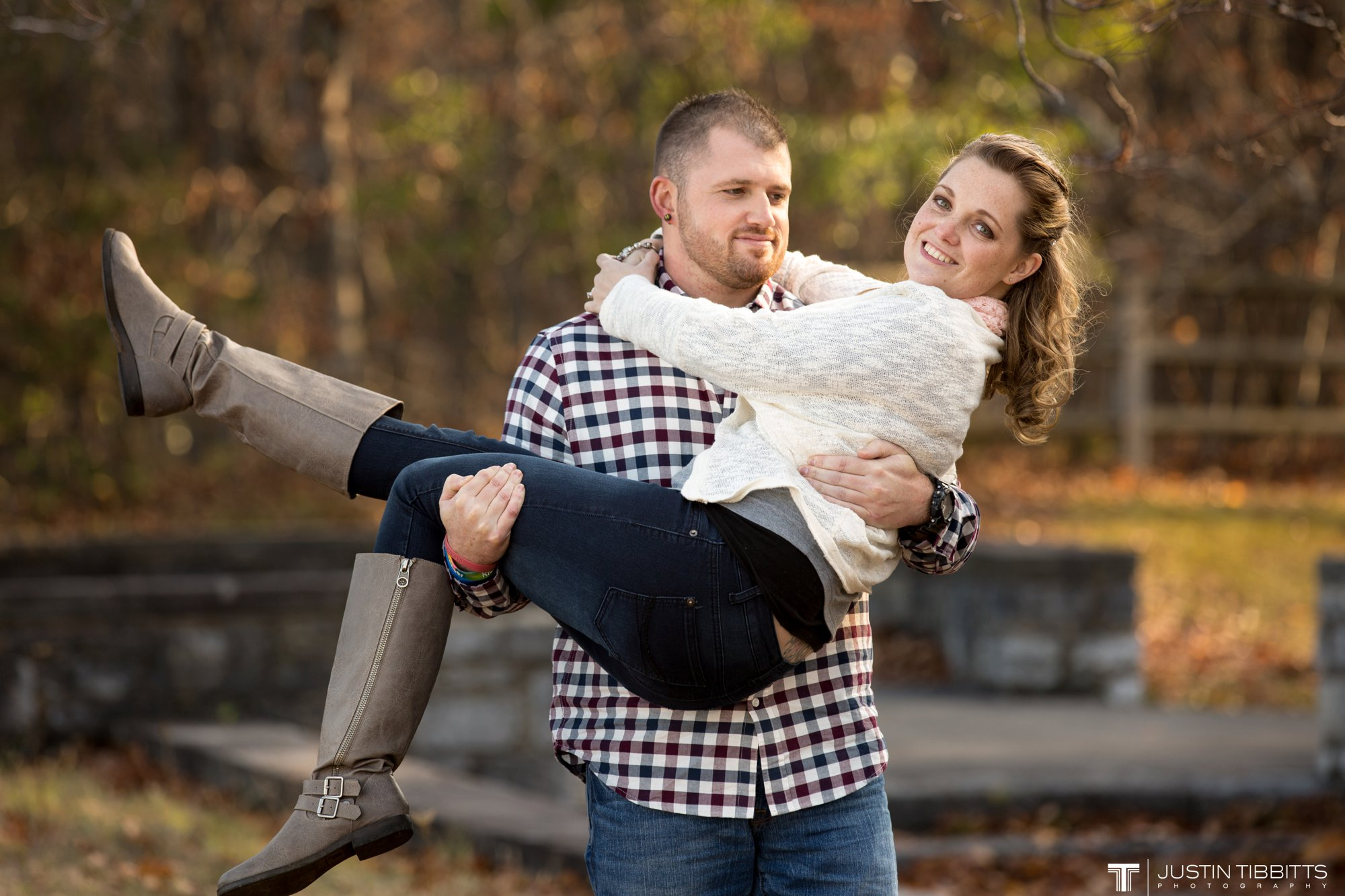 Justin Tibbitts Photography Ashlee and Steves Thatcher Park, New York Engagement Shoot-93