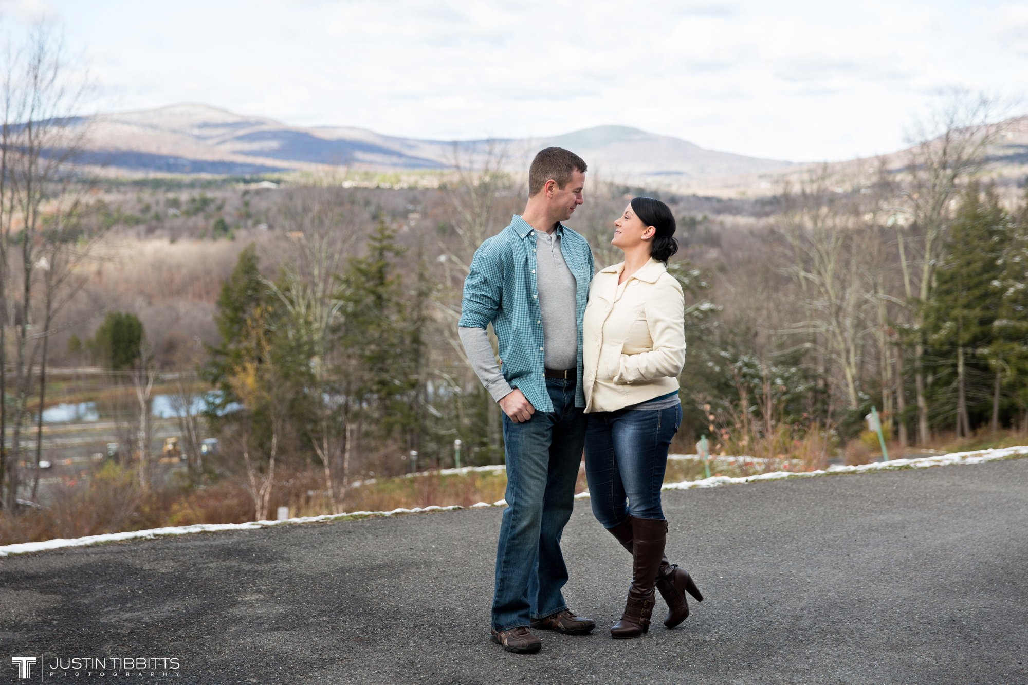 Justin Tibbitts Photography Kristie and Gregs Windham Mountain Resort Engagement Shoot-68