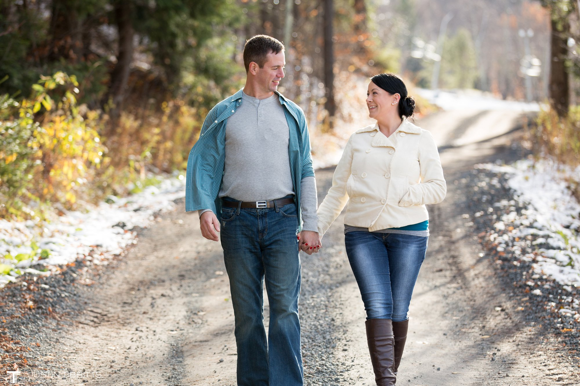 Justin Tibbitts Photography Kristie and Gregs Windham Mountain Resort Engagement Shoot-70
