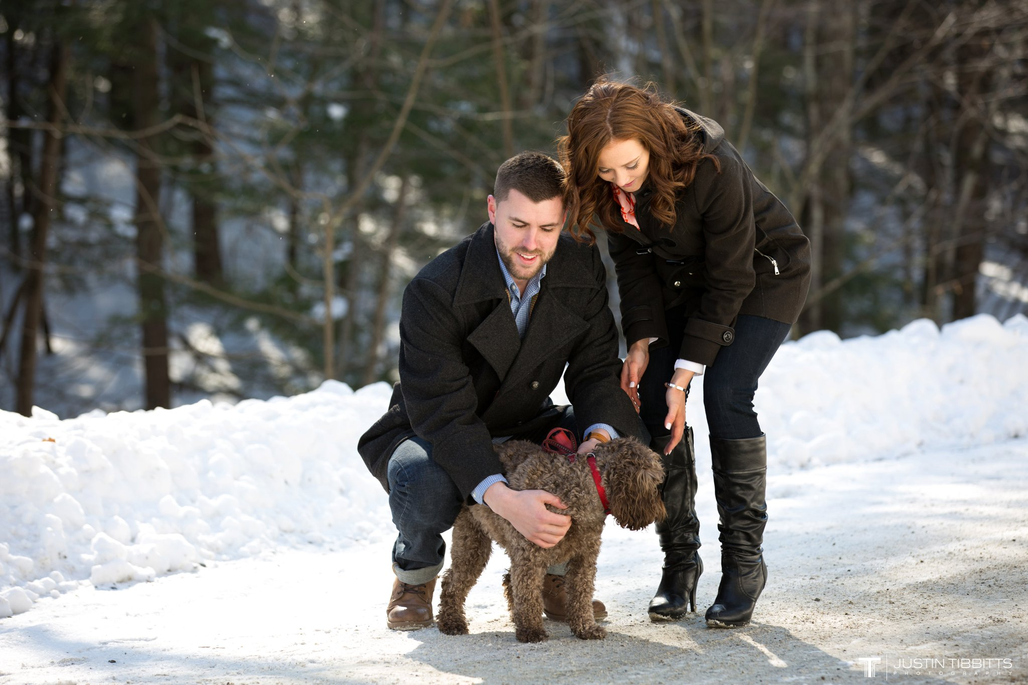 Carissa and Jason's Averill Park, NY Winter Engagement shoot-10