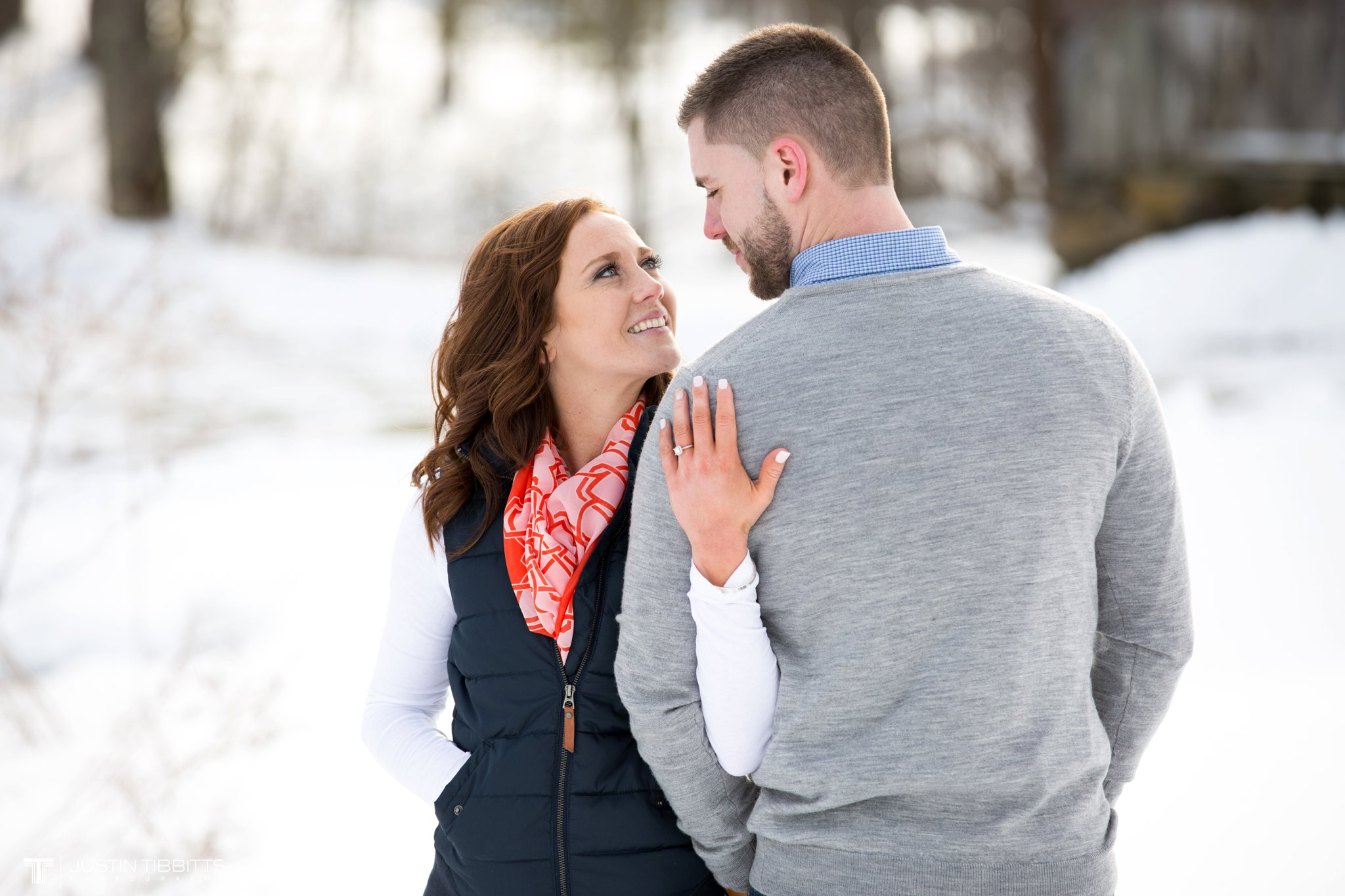 Carissa and Jason's Averill Park, NY Winter Engagement shoot-102