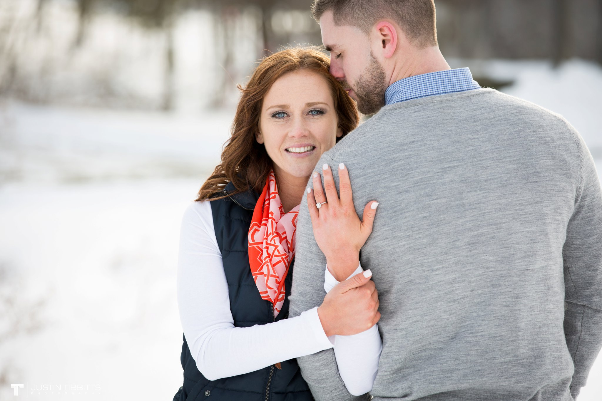 Carissa and Jason's Averill Park, NY Winter Engagement shoot-103