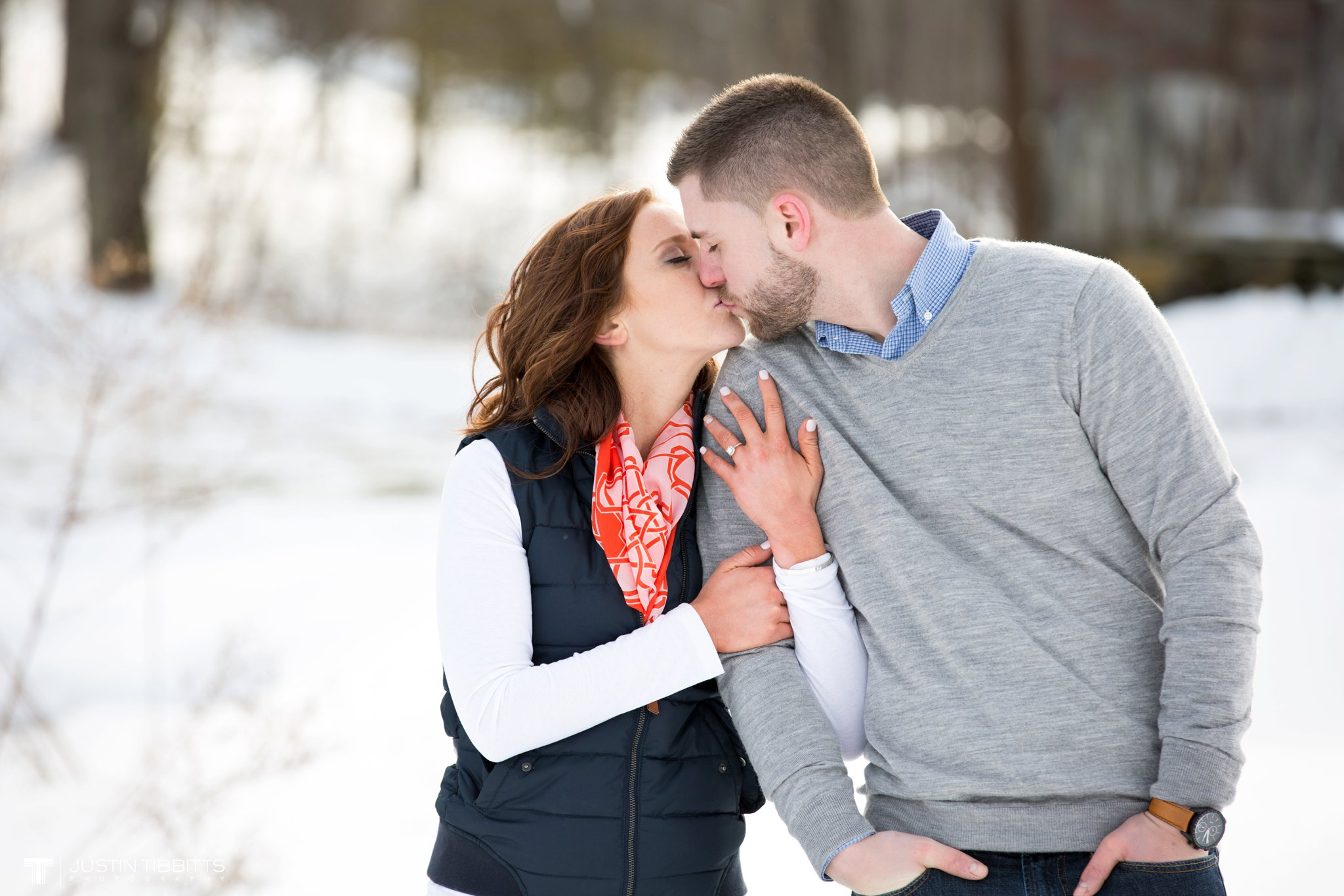 Carissa and Jason's Averill Park, NY Winter Engagement shoot-106