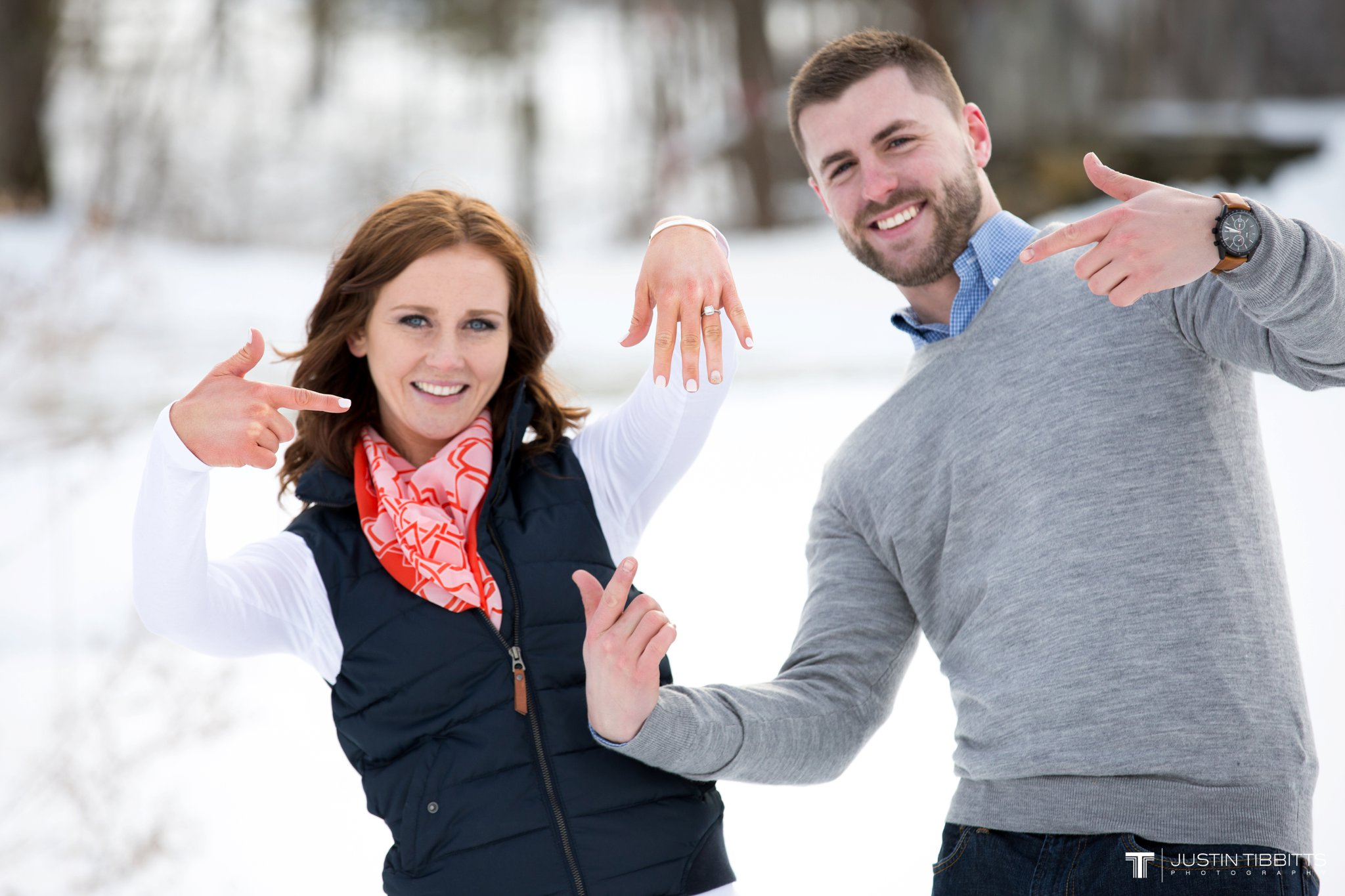 Carissa and Jason's Averill Park, NY Winter Engagement shoot-115