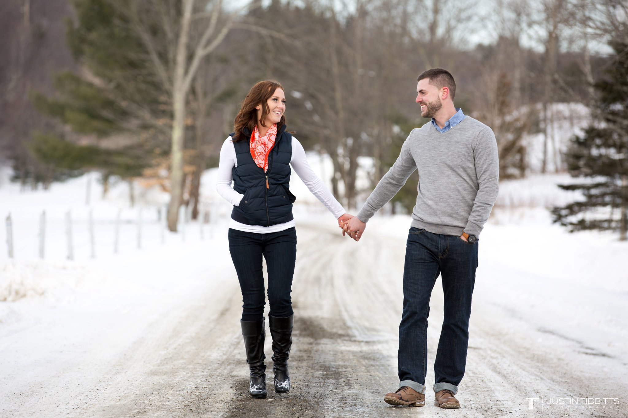 Carissa and Jason's Averill Park, NY Winter Engagement shoot-118