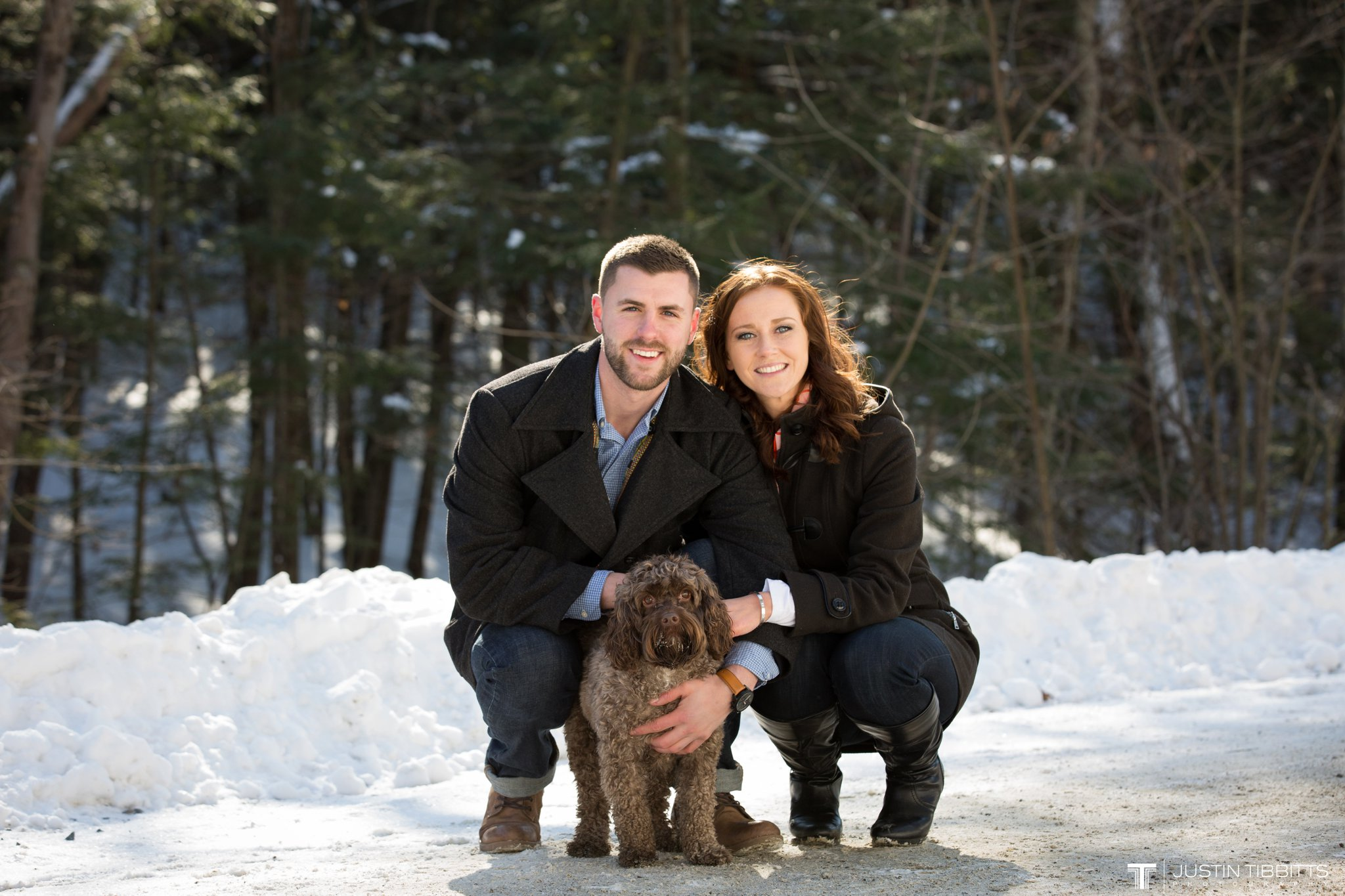 Carissa and Jason's Averill Park, NY Winter Engagement shoot-12