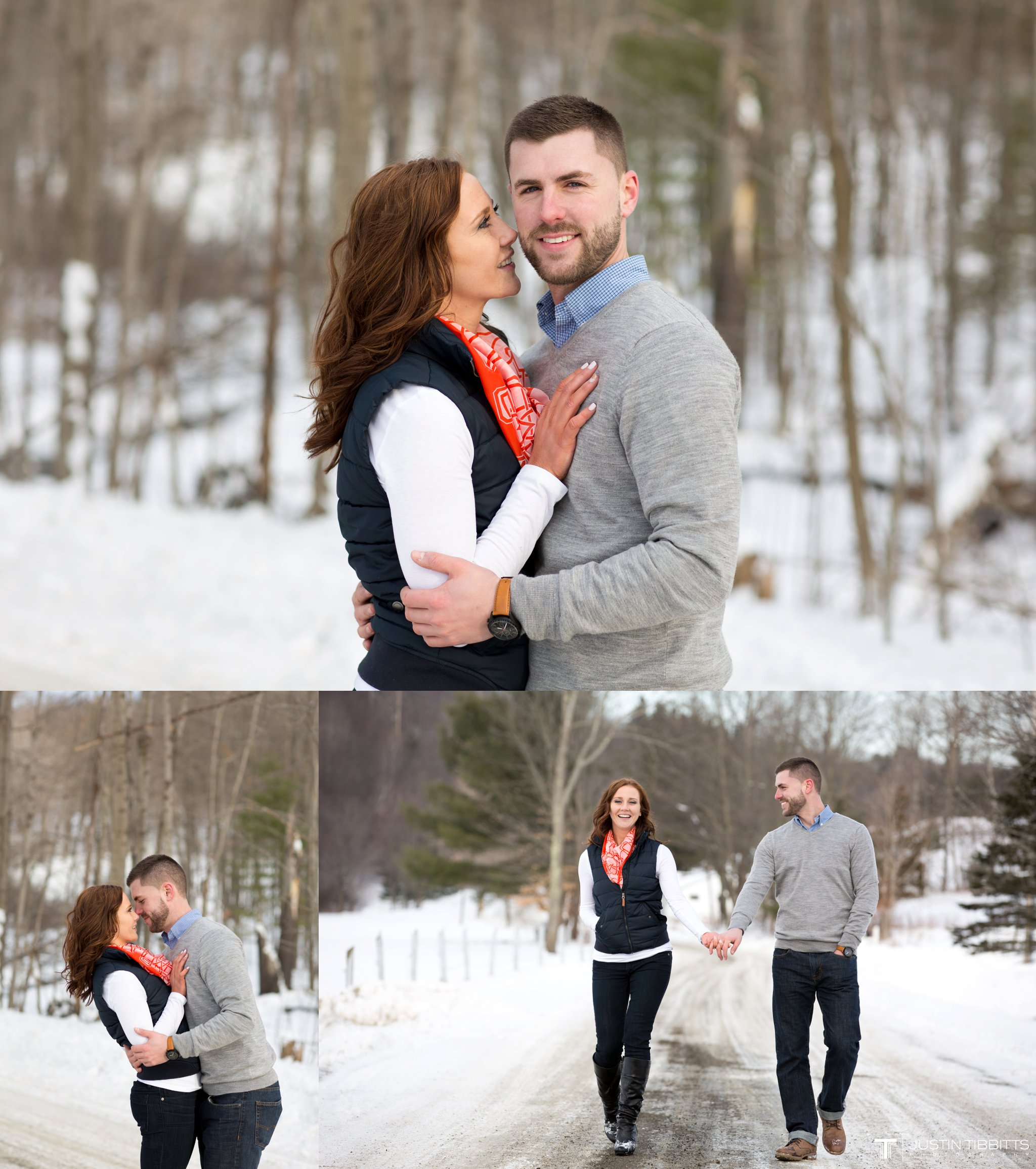 Carissa and Jason's Averill Park, NY Winter Engagement shoot-133