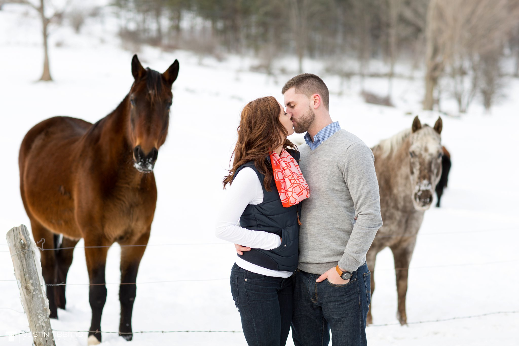 Carissa and Jason's Averill Park, NY Winter Engagement shoot-138