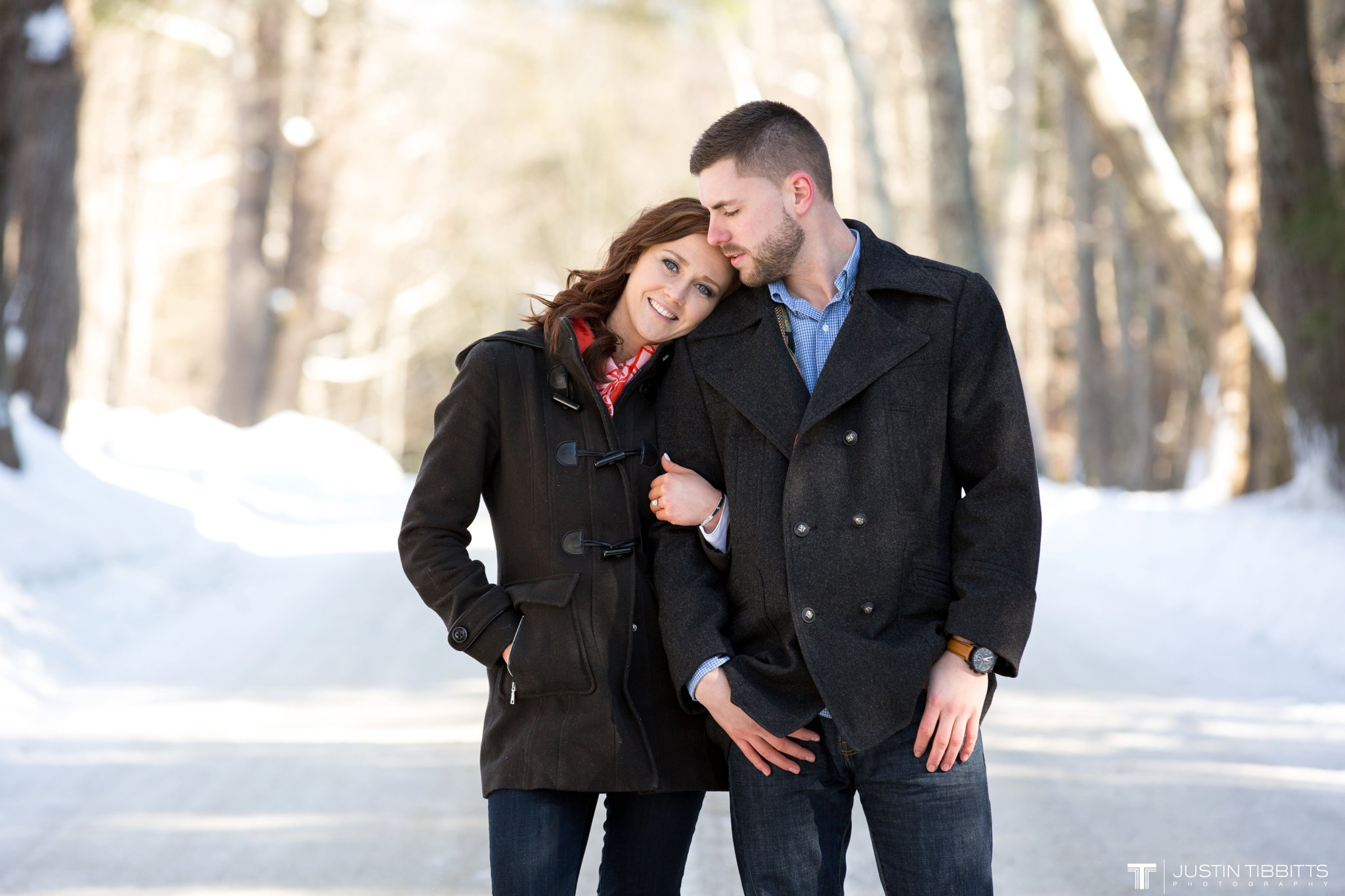 Carissa and Jason's Averill Park, NY Winter Engagement shoot-16