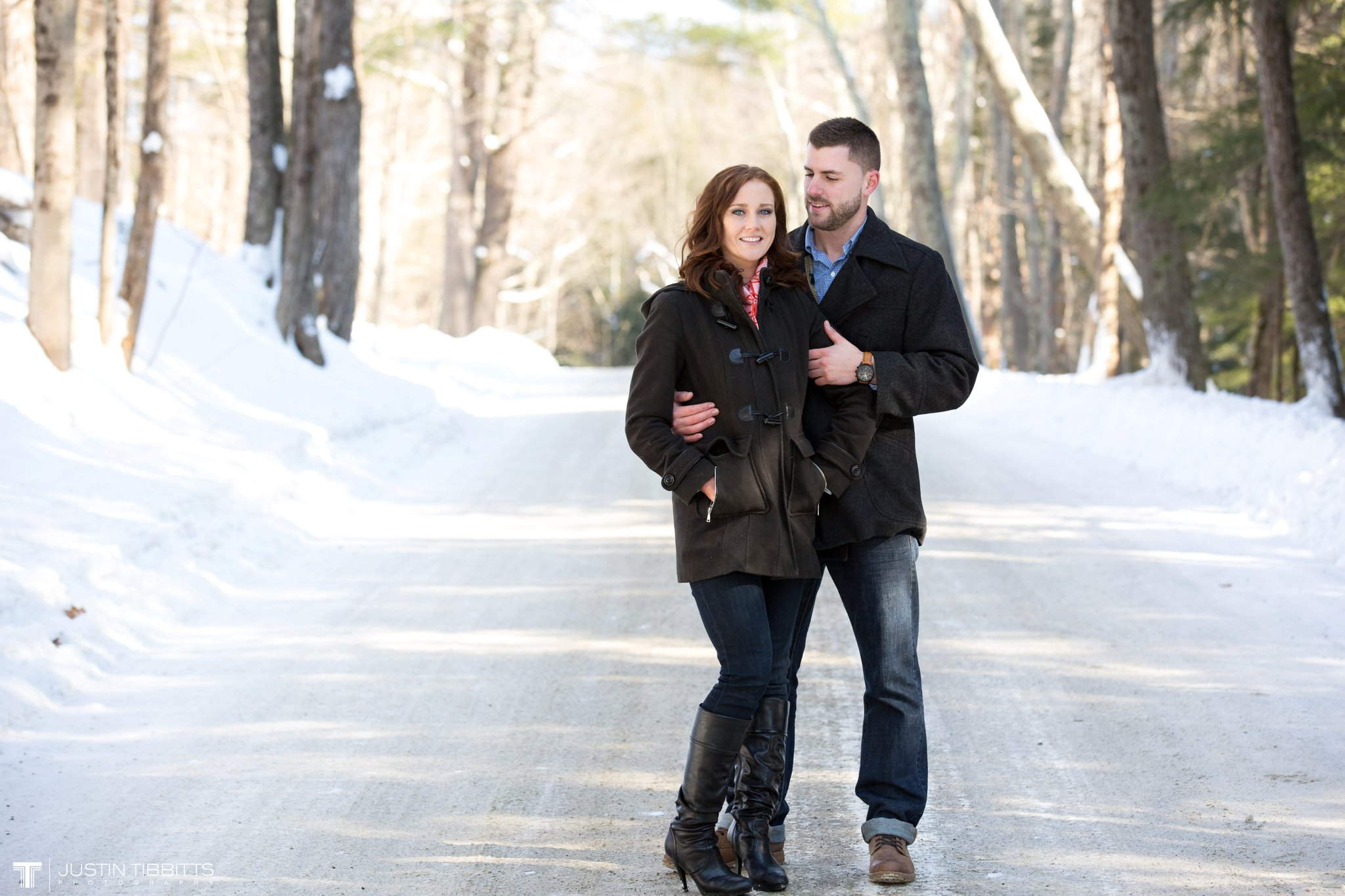 Carissa and Jason's Averill Park, NY Winter Engagement shoot-17