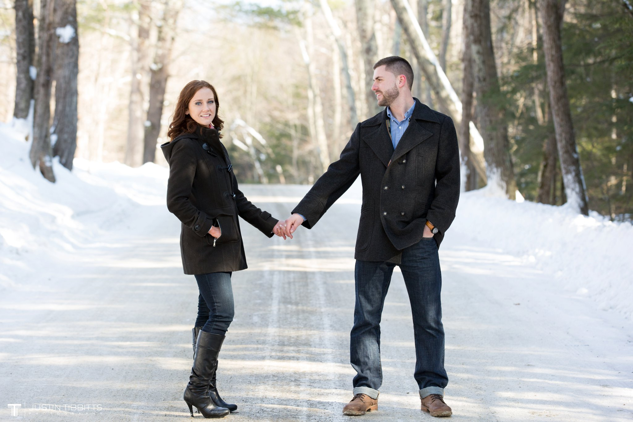 Carissa and Jason's Averill Park, NY Winter Engagement shoot-26