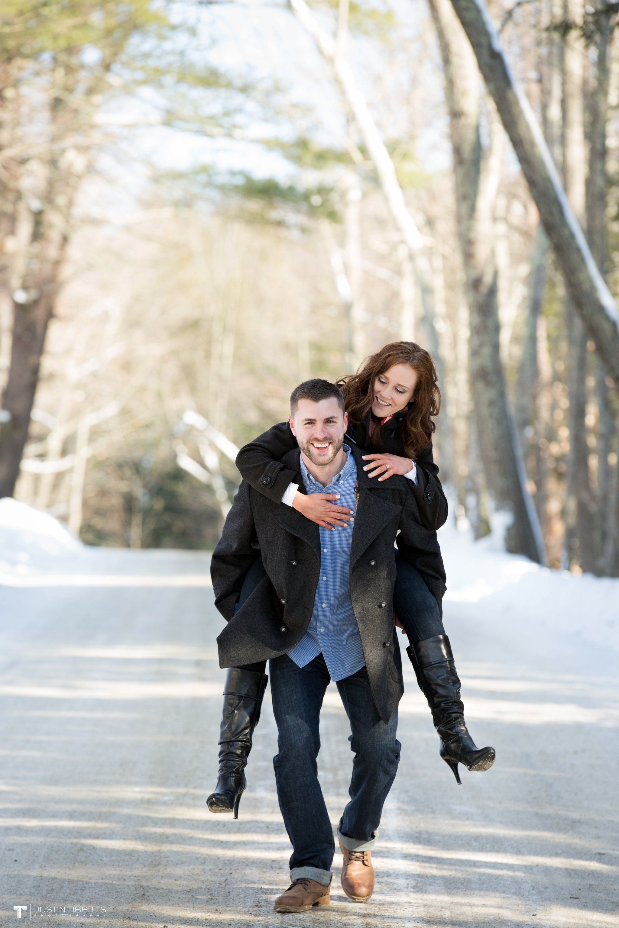 Carissa and Jason's Averill Park, NY Winter Engagement shoot-29