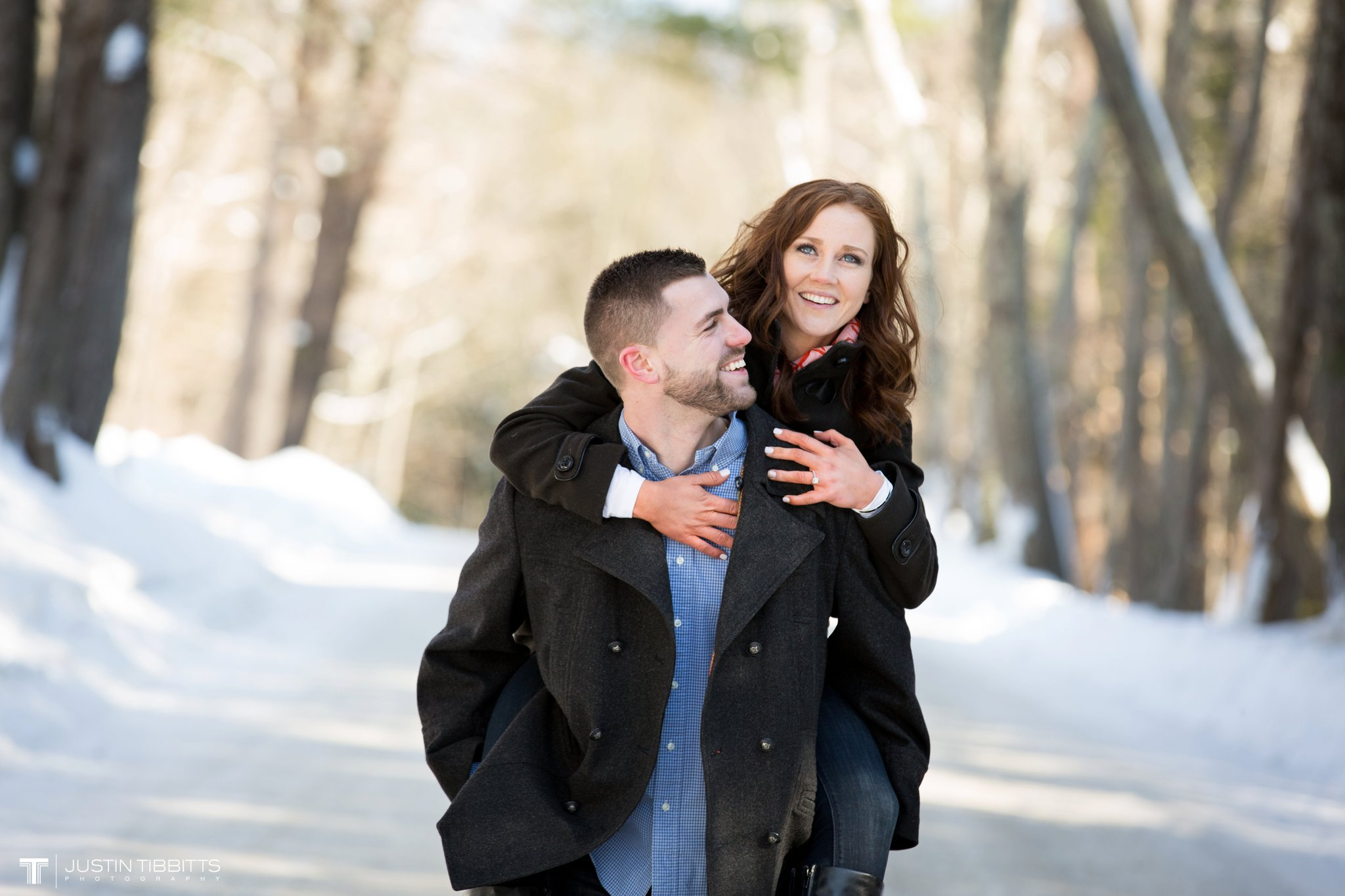 Carissa and Jason's Averill Park, NY Winter Engagement shoot-32