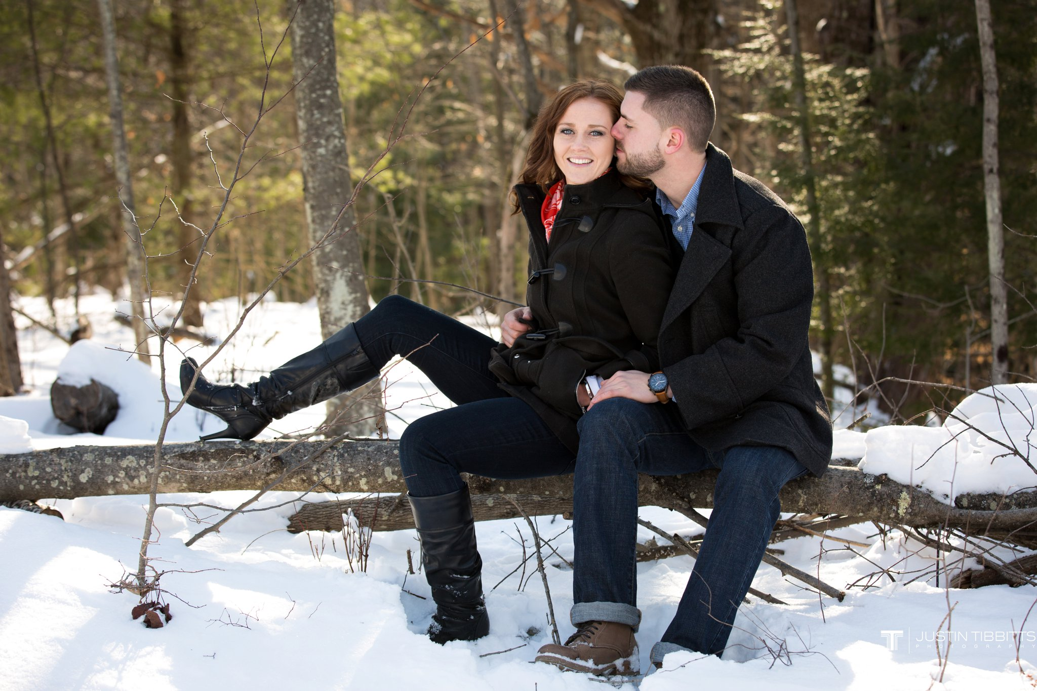 Carissa and Jason's Averill Park, NY Winter Engagement shoot-37