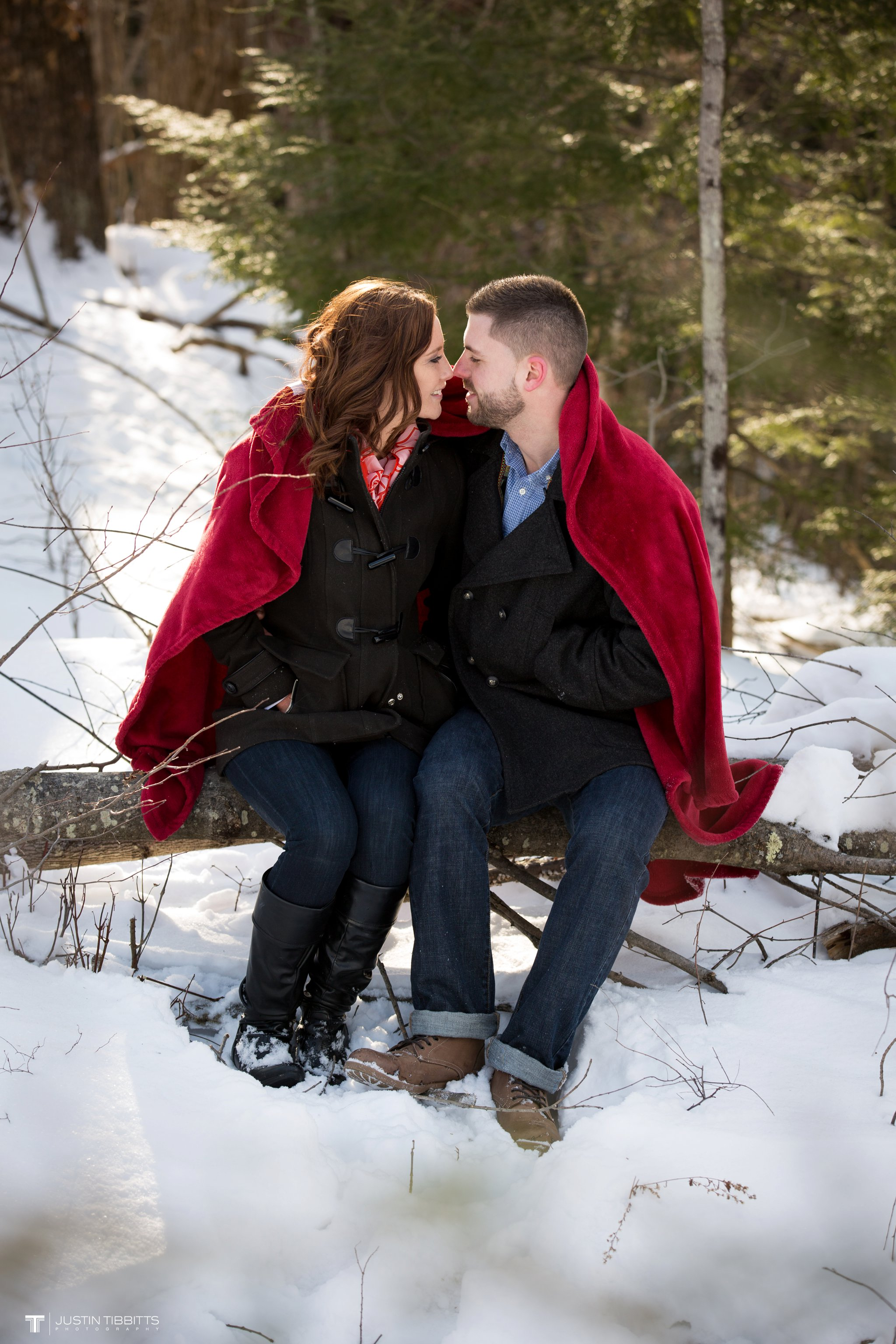Carissa and Jason's Averill Park, NY Winter Engagement shoot-48