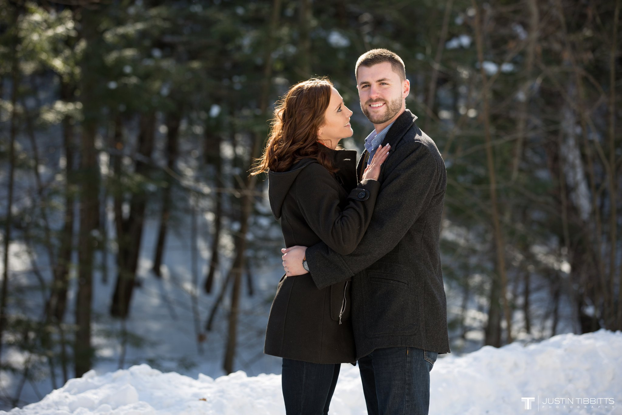 Carissa and Jason's Averill Park, NY Winter Engagement shoot-5