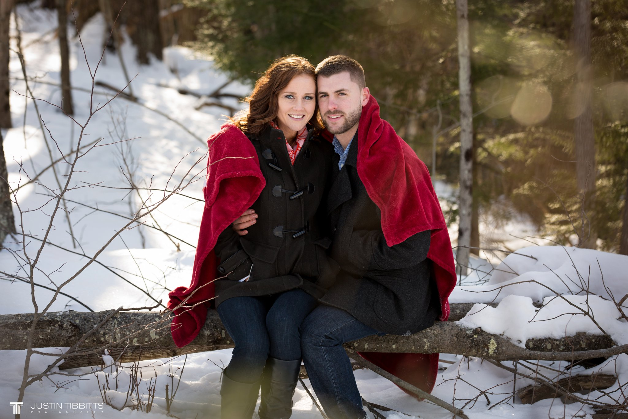 Carissa and Jason's Averill Park, NY Winter Engagement shoot-50