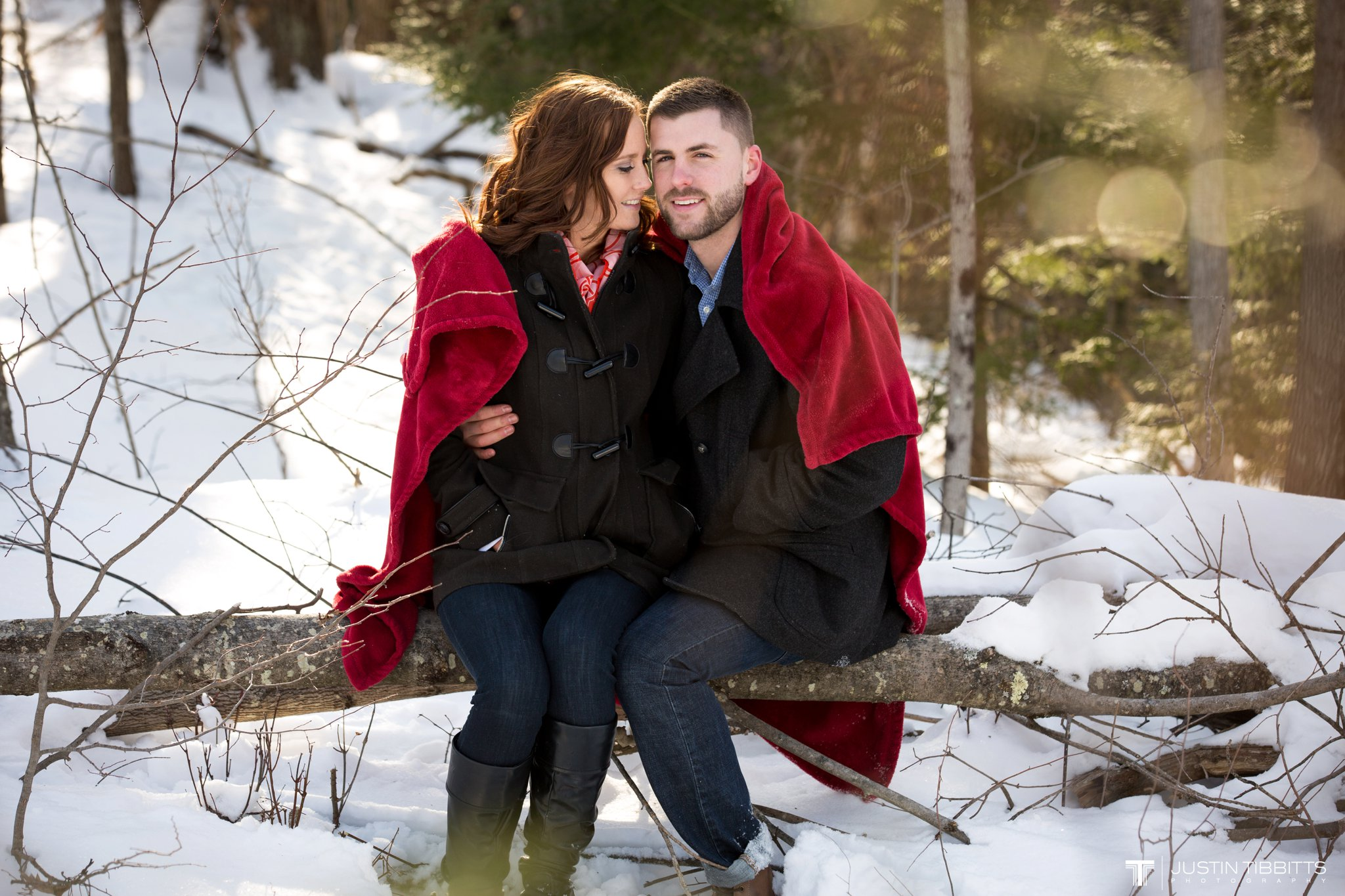 Carissa and Jason's Averill Park, NY Winter Engagement shoot-52