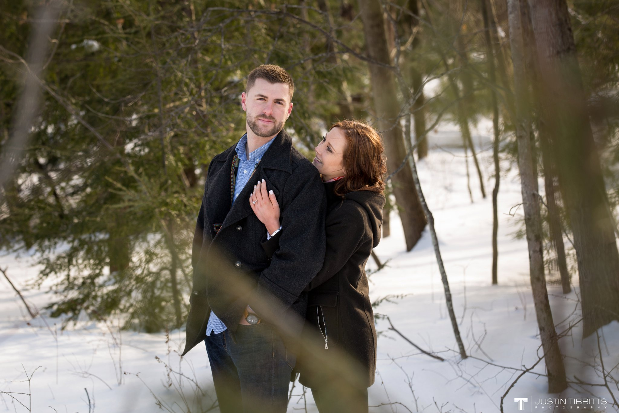 Carissa and Jason's Averill Park, NY Winter Engagement shoot-63
