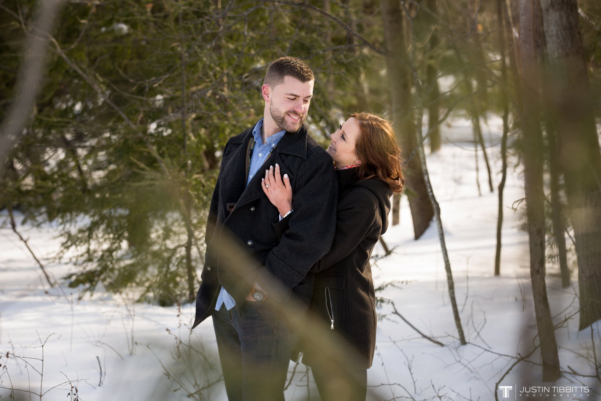 Carissa and Jason's Averill Park, NY Winter Engagement shoot-64