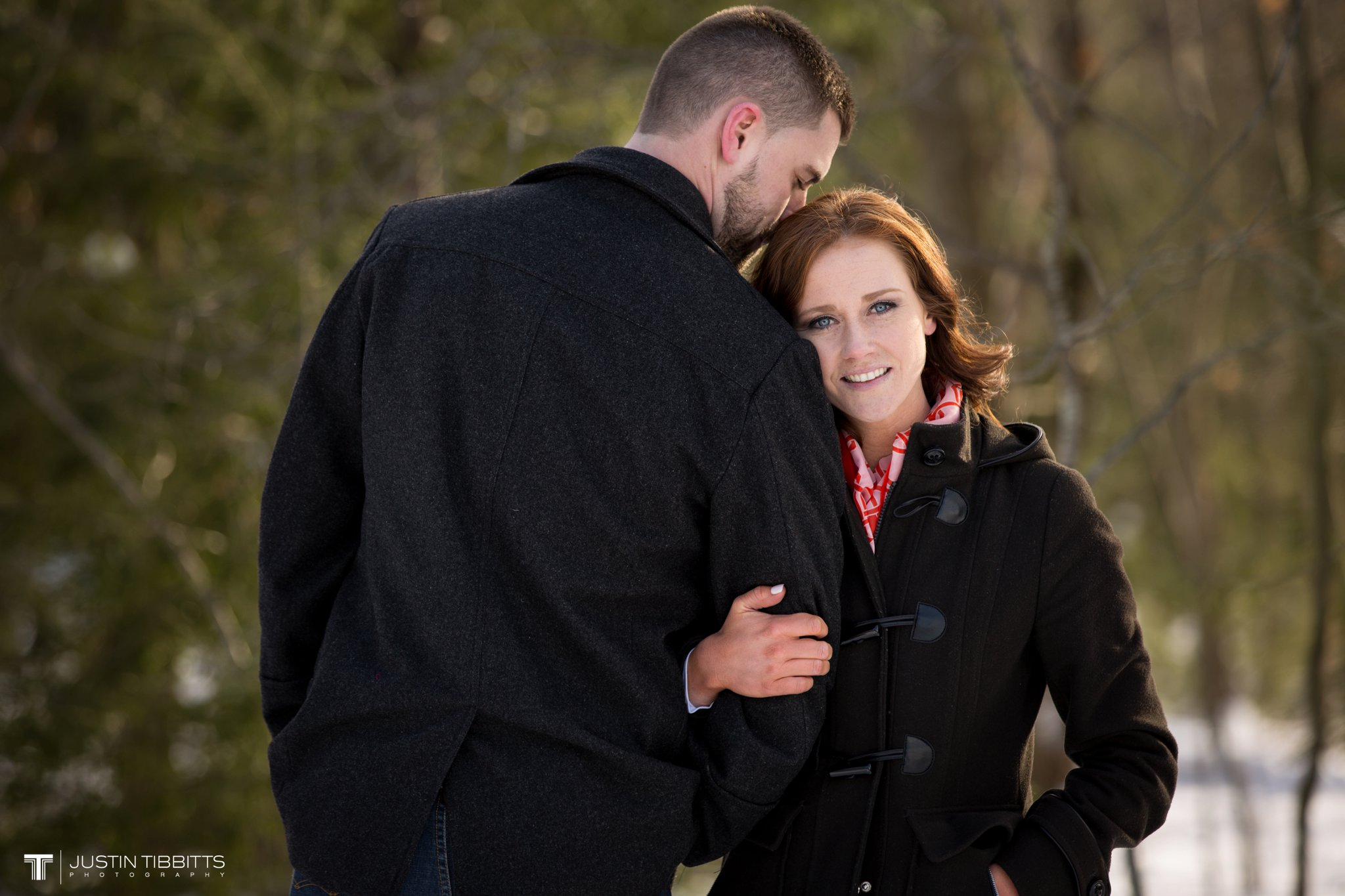 Carissa and Jason's Averill Park, NY Winter Engagement shoot-68