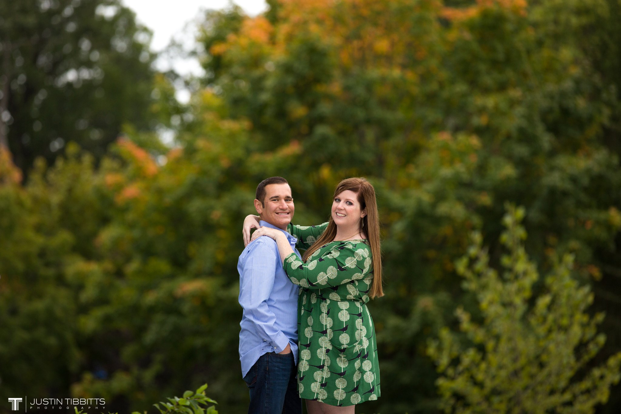 Amanda and John Michael's Saratoga, NY Engagement Shoot-56