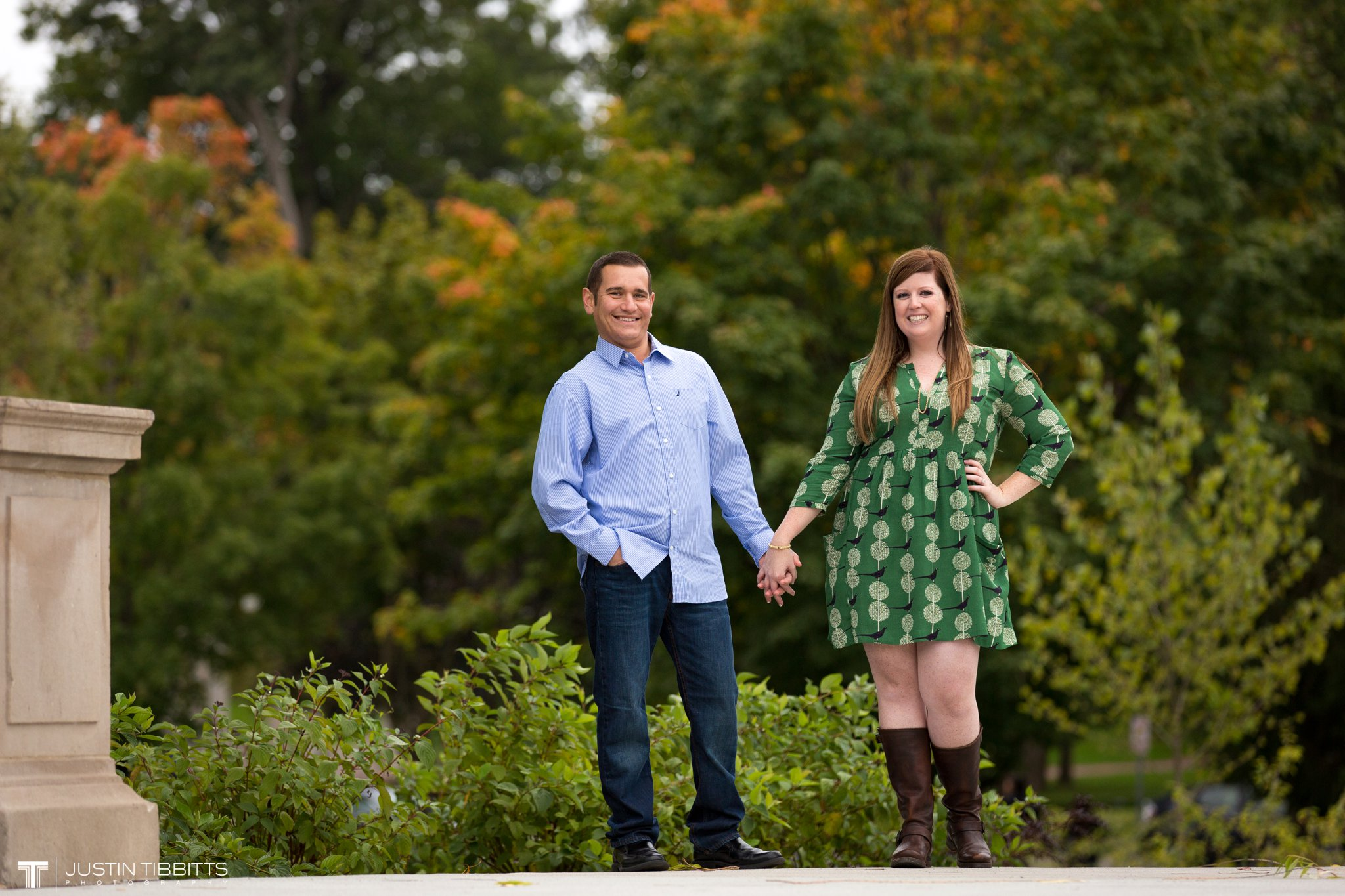 Amanda and John Michael's Saratoga, NY Engagement Shoot-58