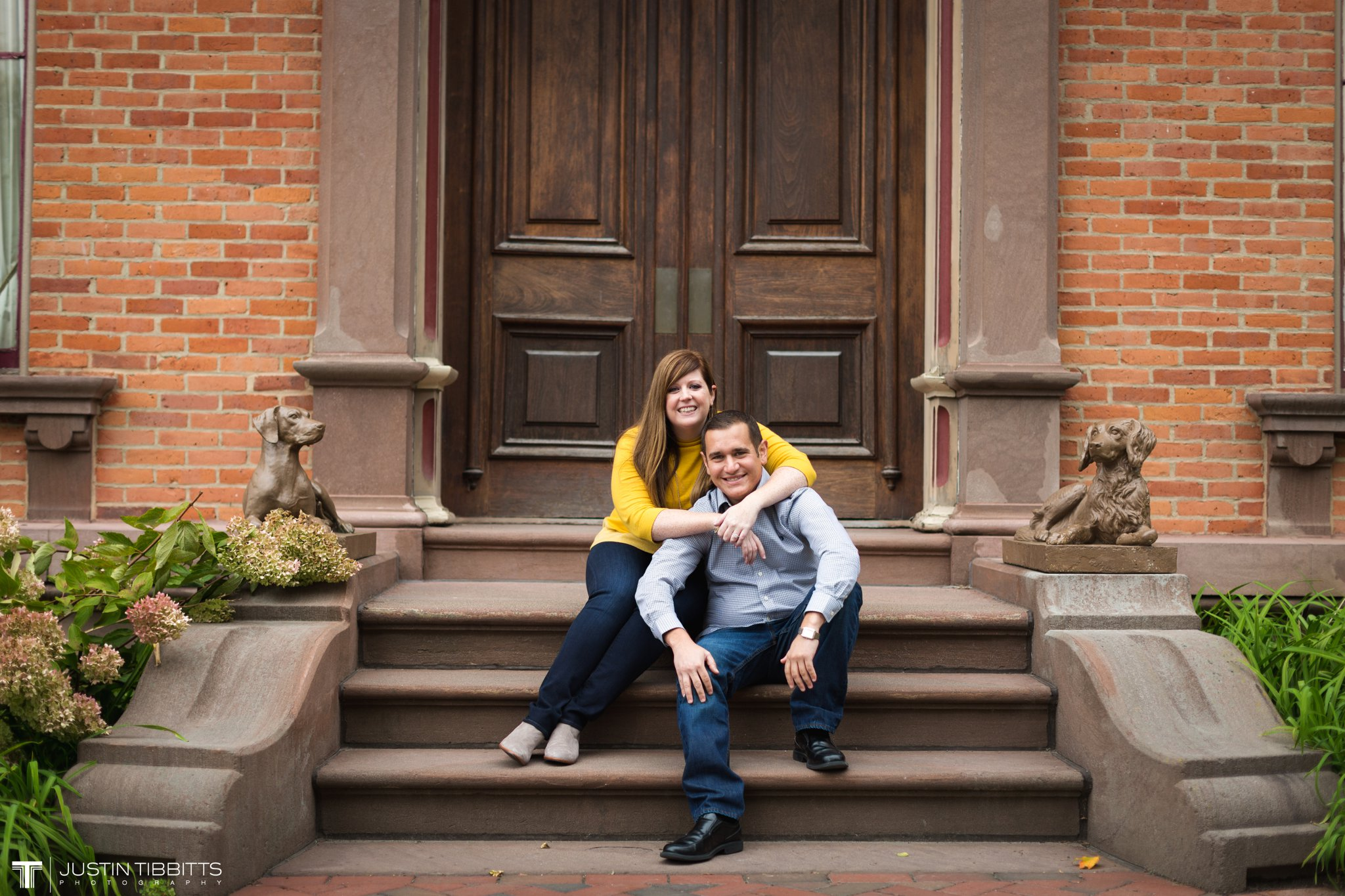 Amanda and John Michael's Saratoga, NY Engagement Shoot-8