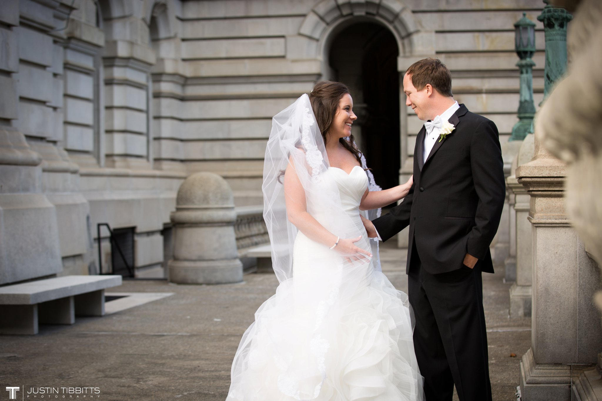 The State Room Albany, NY Wedding with Christian and Meg by Justin Tibbitts Photography_0095