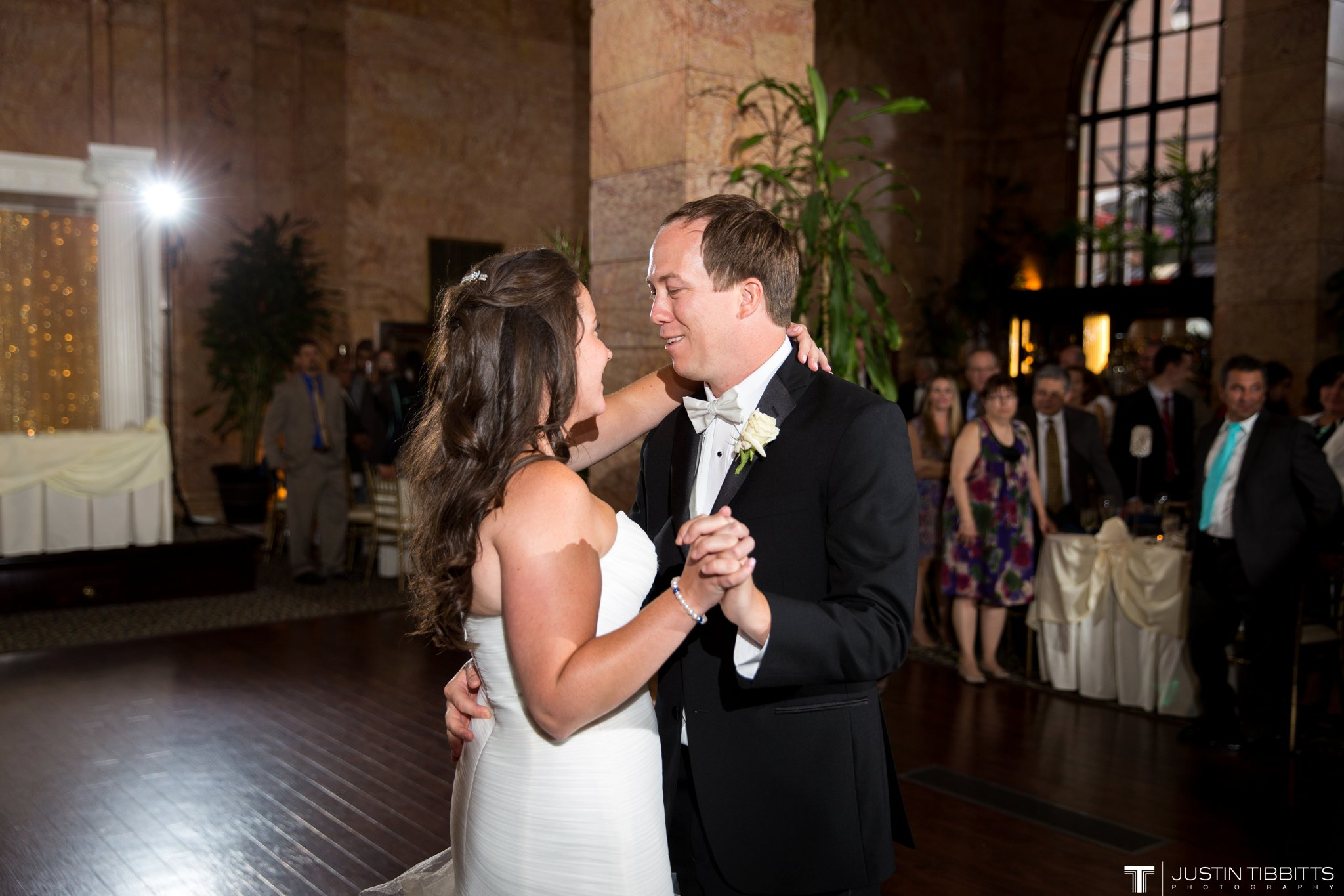 The State Room Albany, NY Wedding with Christian and Meg by Justin Tibbitts Photography_0137