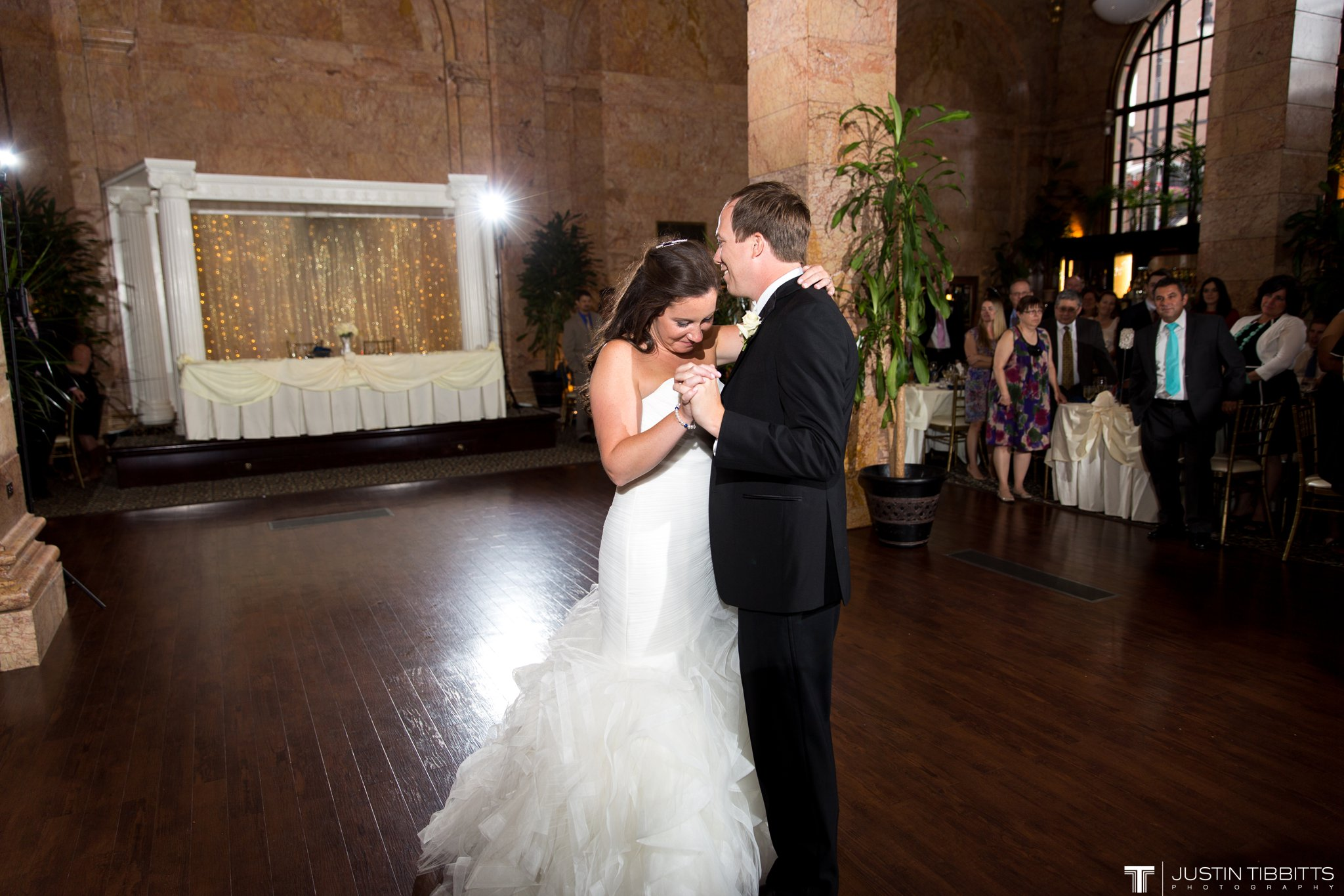 The State Room Albany, NY Wedding with Christian and Meg by Justin Tibbitts Photography_0138