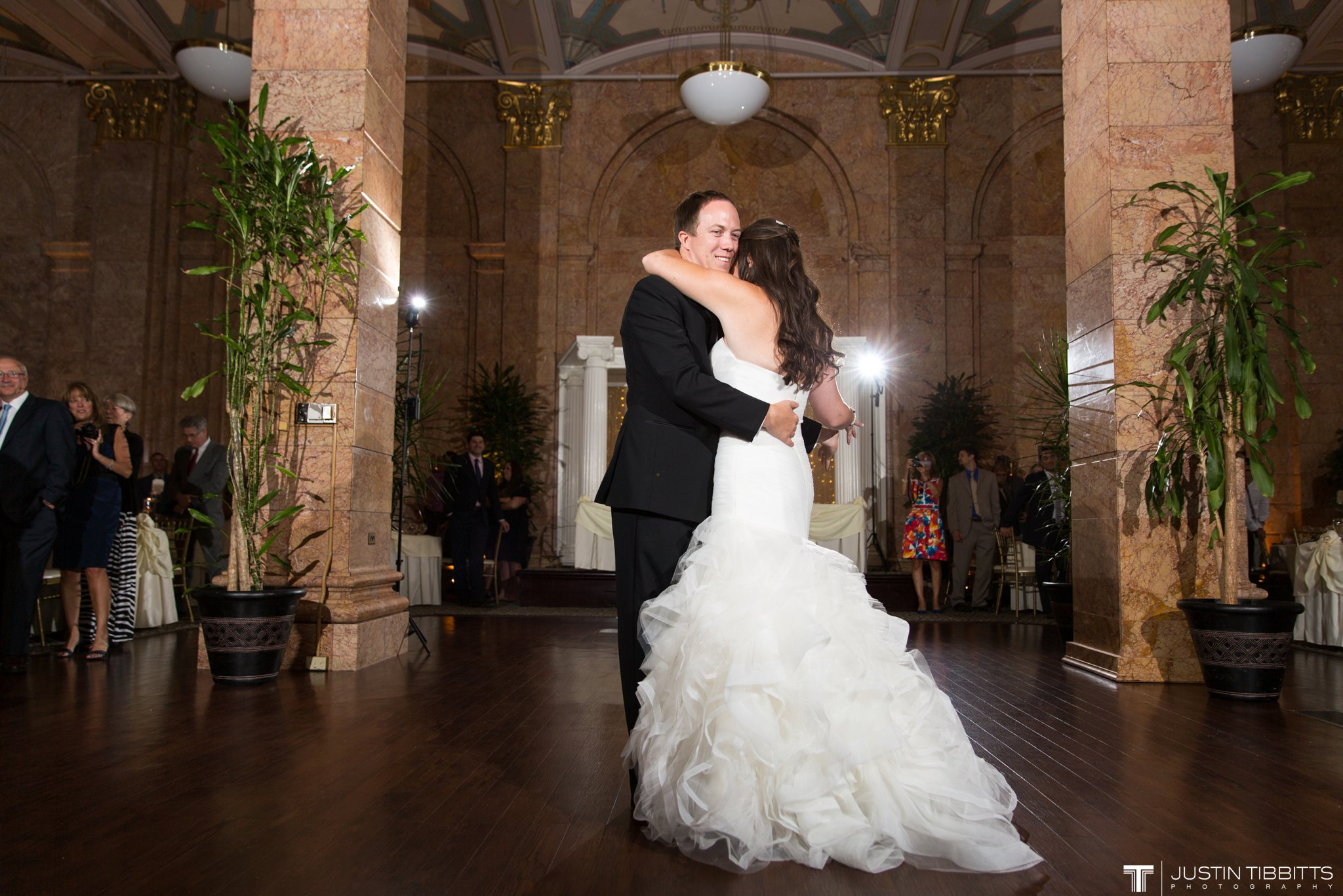 The State Room Albany, NY Wedding with Christian and Meg by Justin Tibbitts Photography_0139