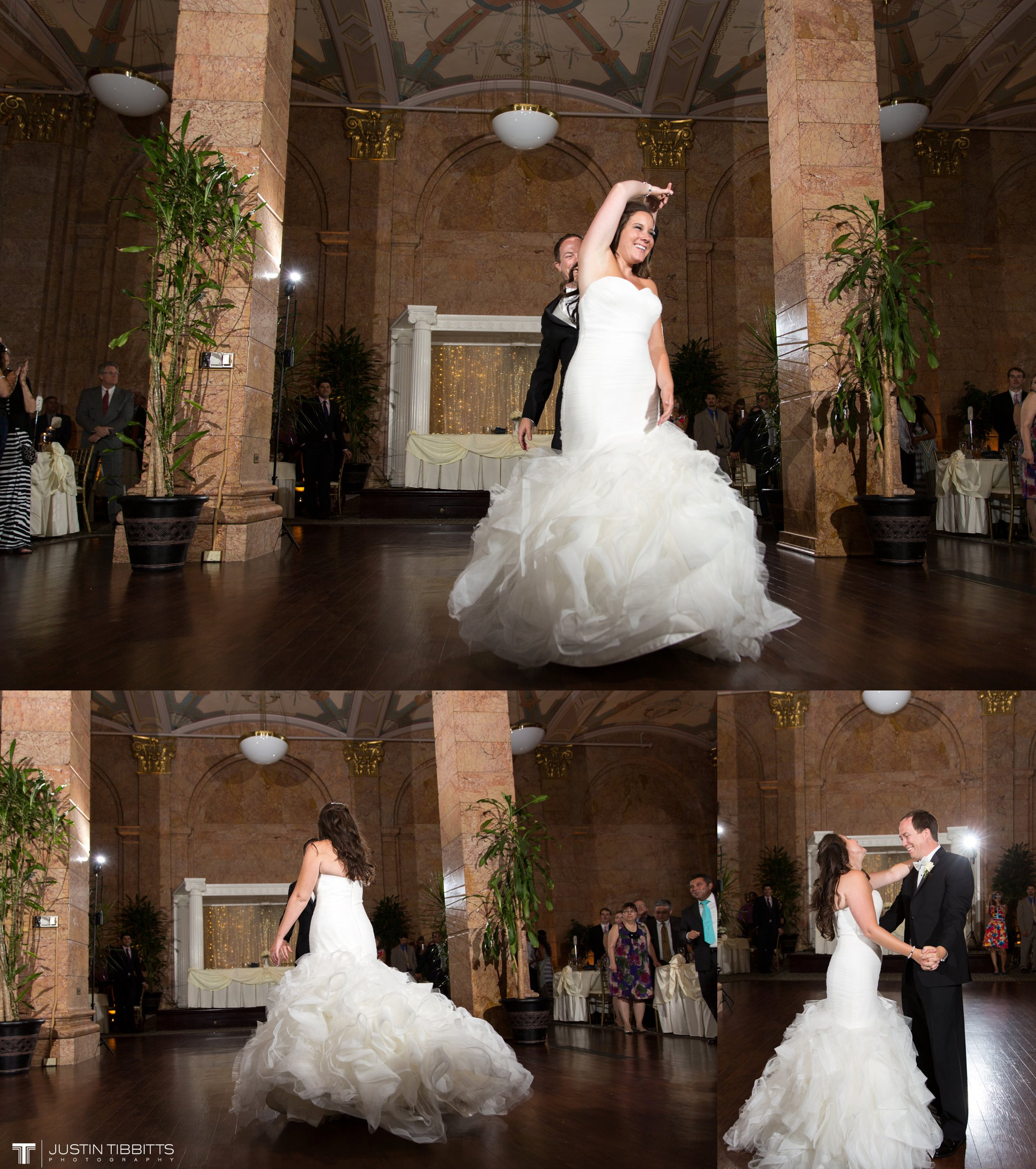 The State Room Albany, NY Wedding with Christian and Meg by Justin Tibbitts Photography_0140