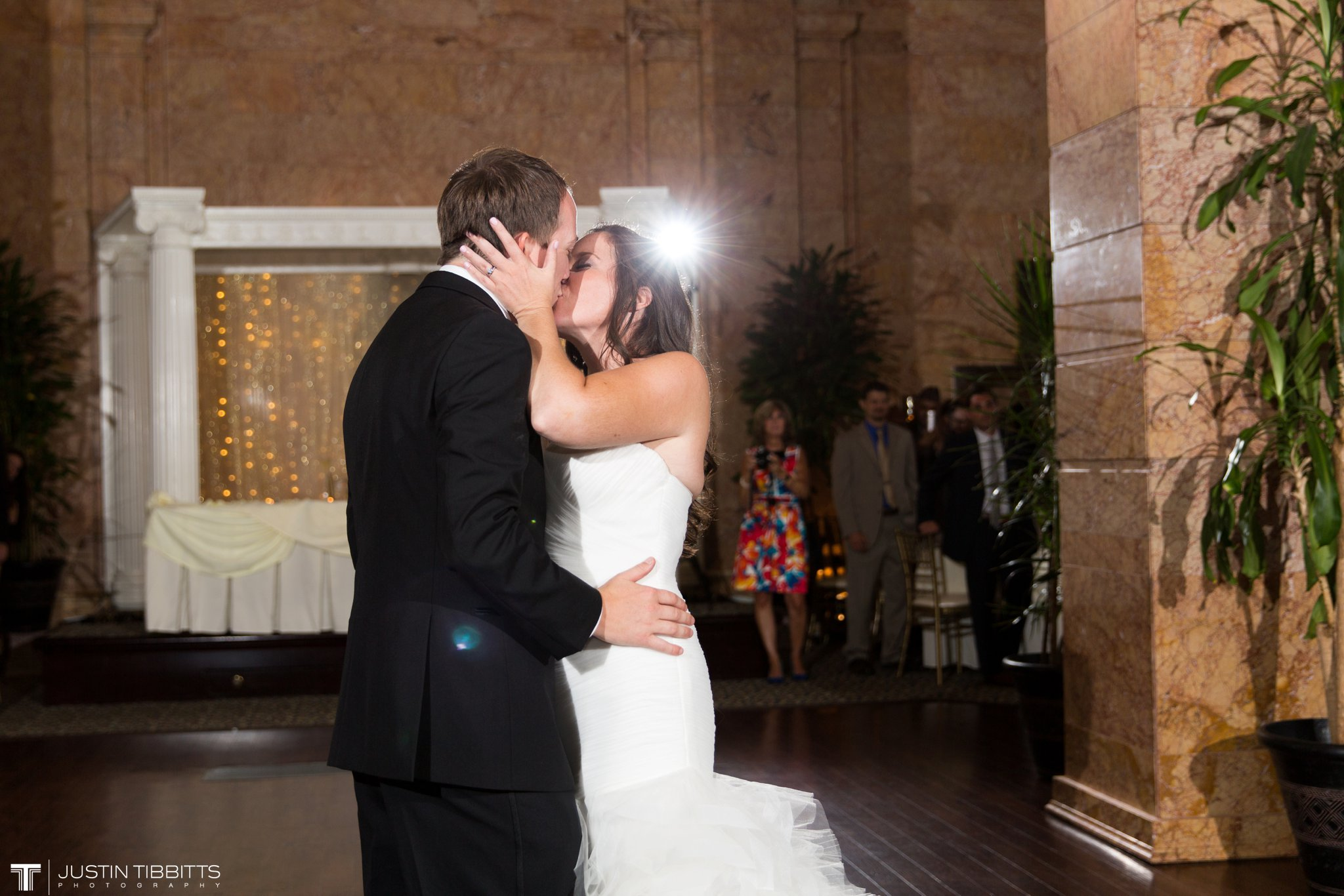 The State Room Albany, NY Wedding with Christian and Meg by Justin Tibbitts Photography_0141