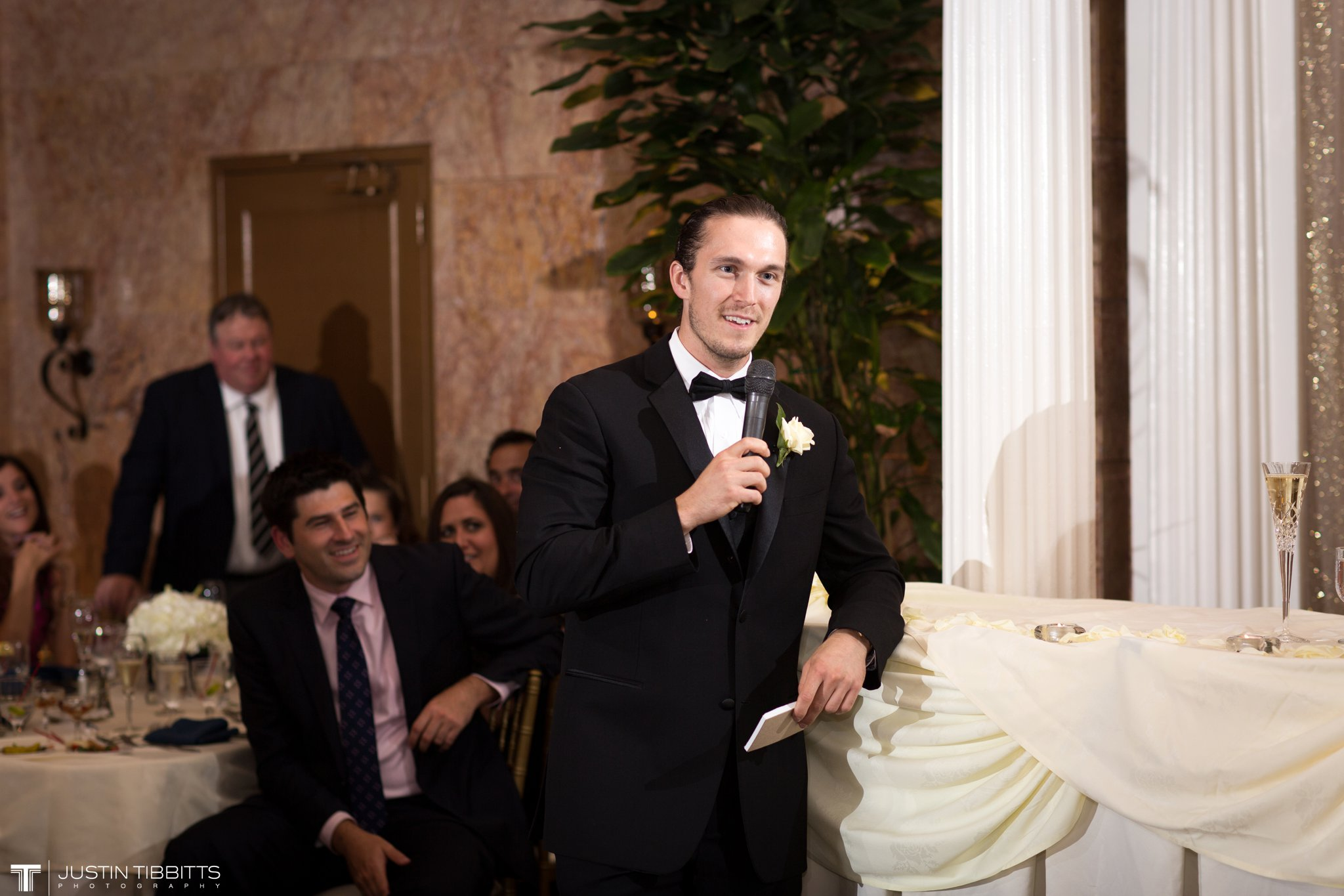 The State Room Albany, NY Wedding with Christian and Meg by Justin Tibbitts Photography_0150